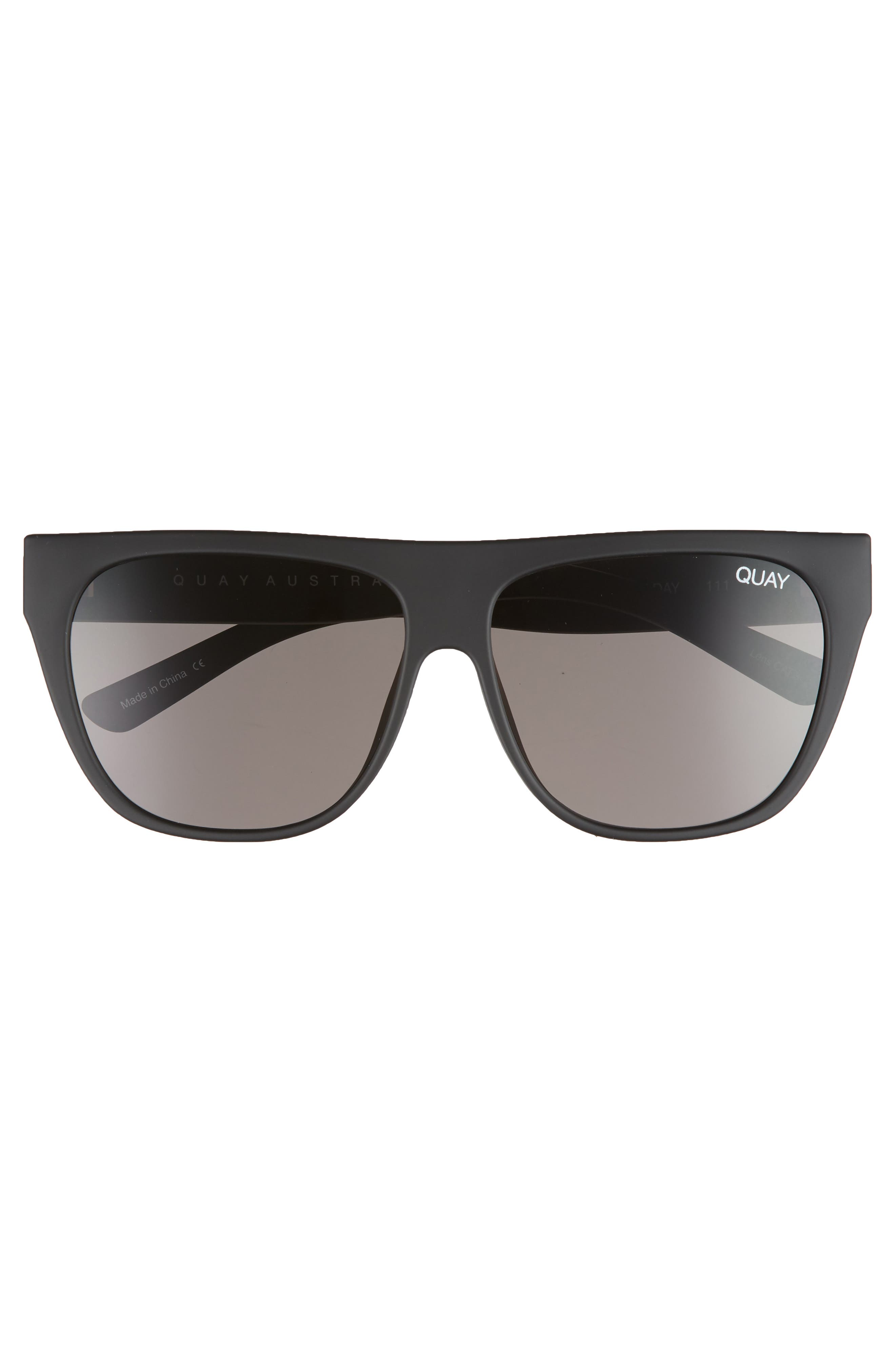 Drama by Day 55mm Square Sunglasses,                             Alternate thumbnail 3, color,                             005