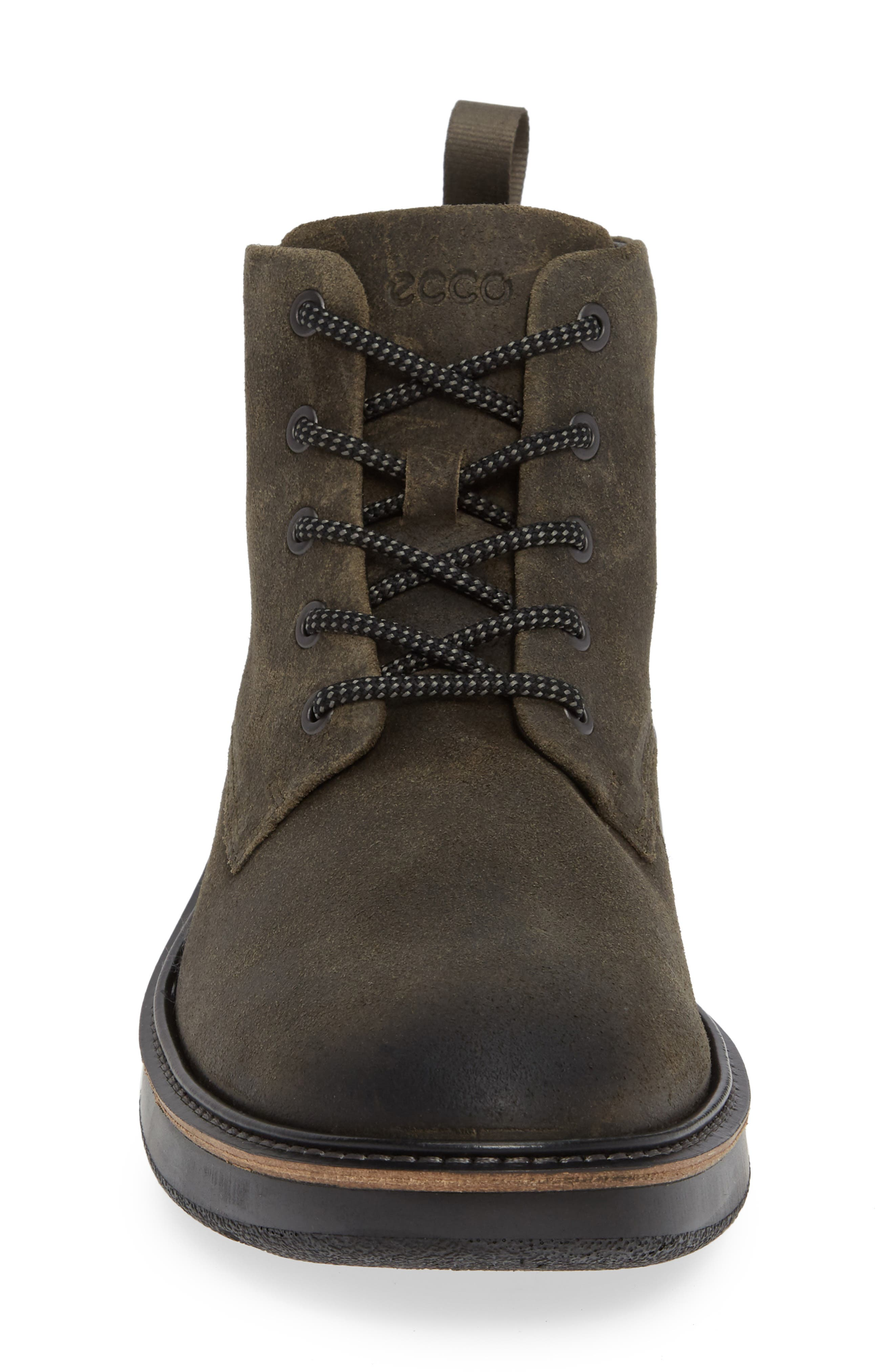 Aurora Plain Toe Boot,                             Alternate thumbnail 4, color,                             TARMAC SUEDE