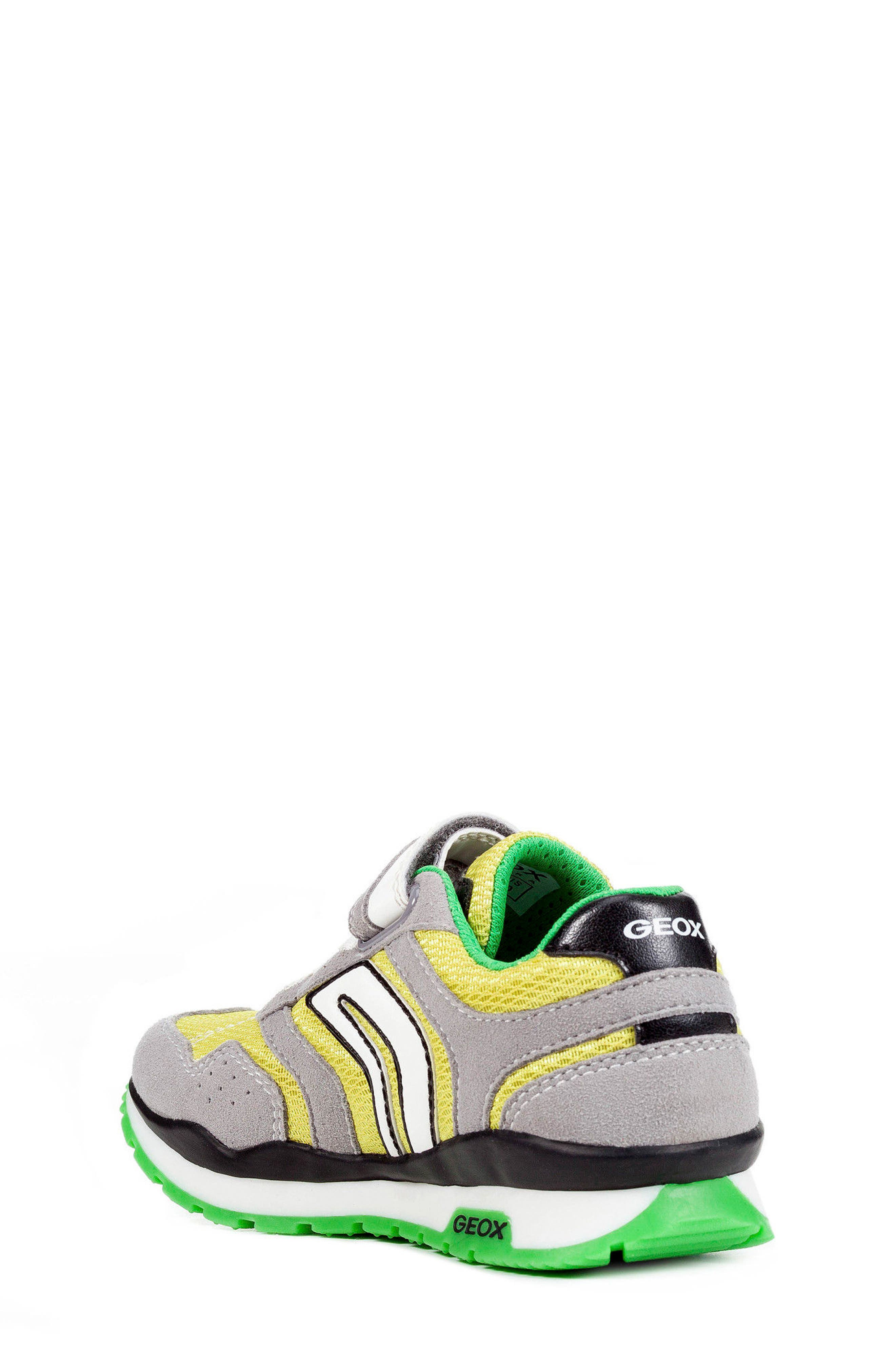 Pavel Low Top Sneaker,                             Alternate thumbnail 2, color,                             GREY/ LIME