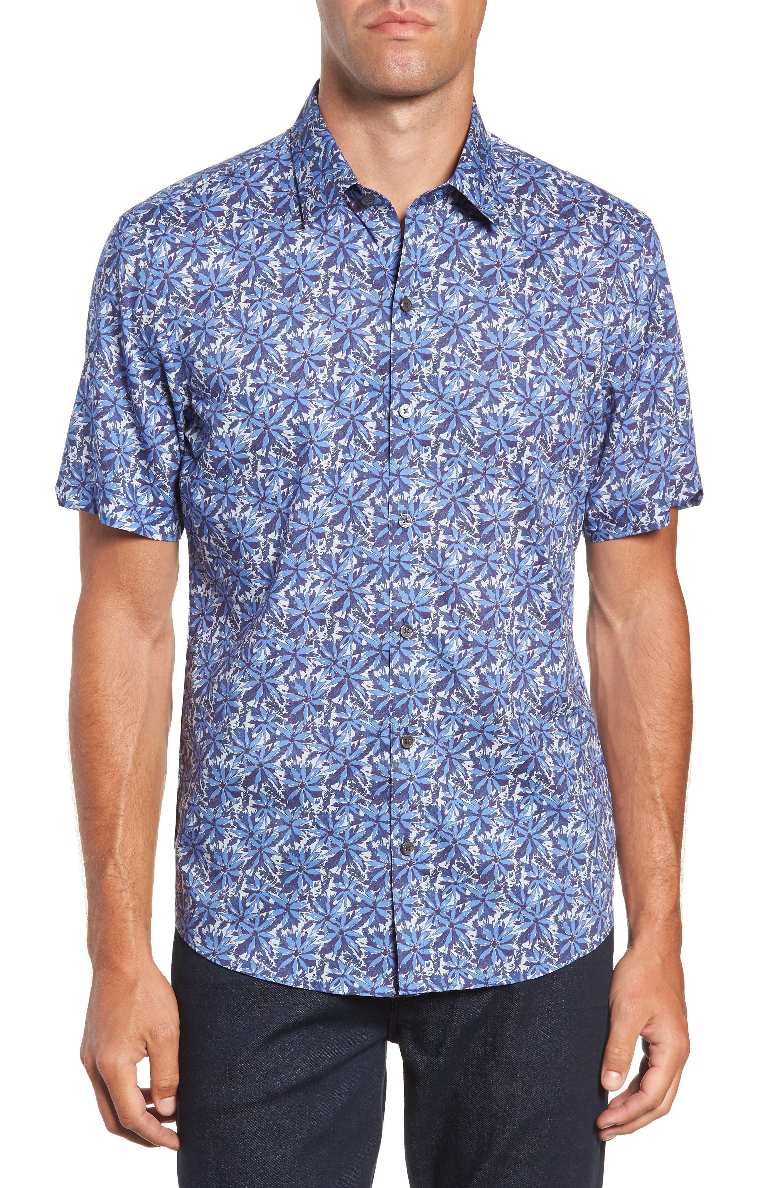 ZACHARY PRELL Ose Regular Fit Sport Shirt, Main, color, 400