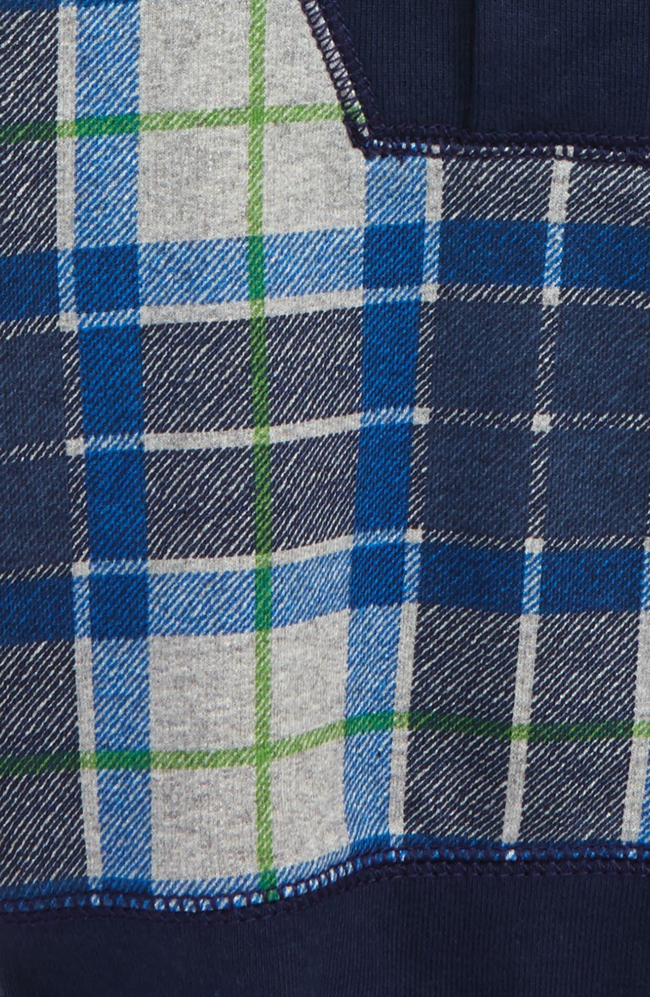 Tartan Pullover Sweater,                             Alternate thumbnail 2, color,                             020
