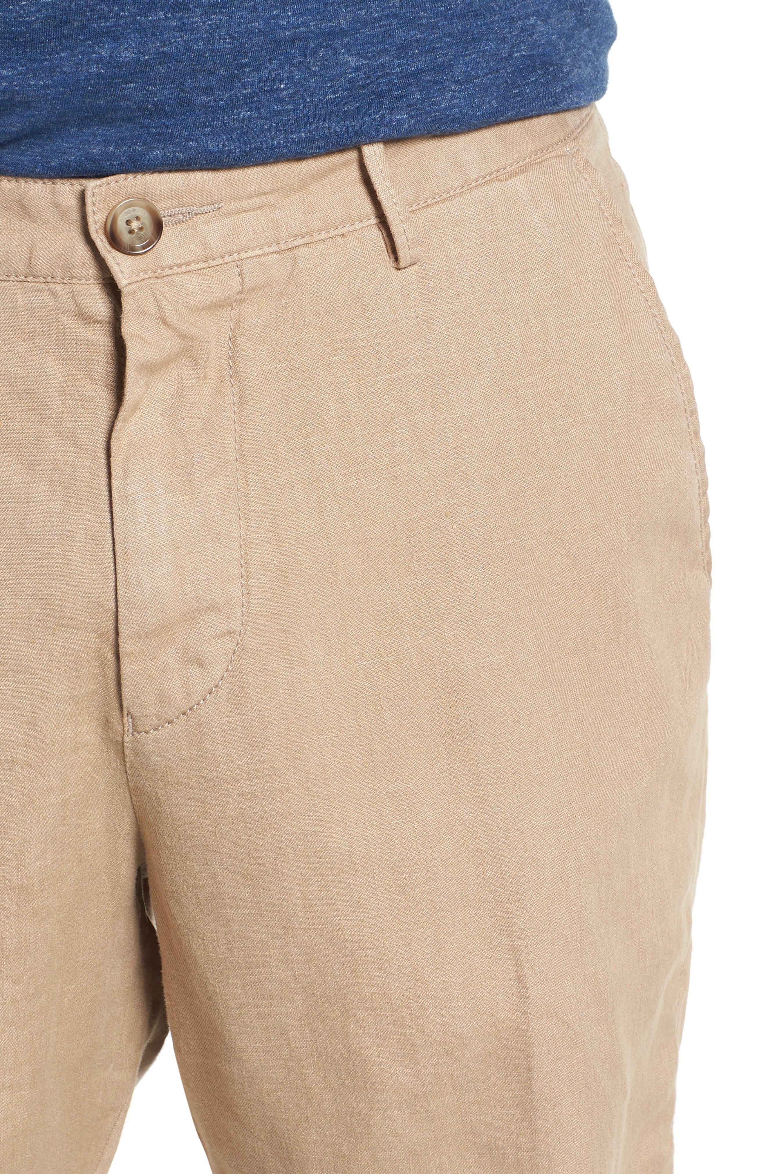 Crigan Linen Shorts,                             Alternate thumbnail 19, color,