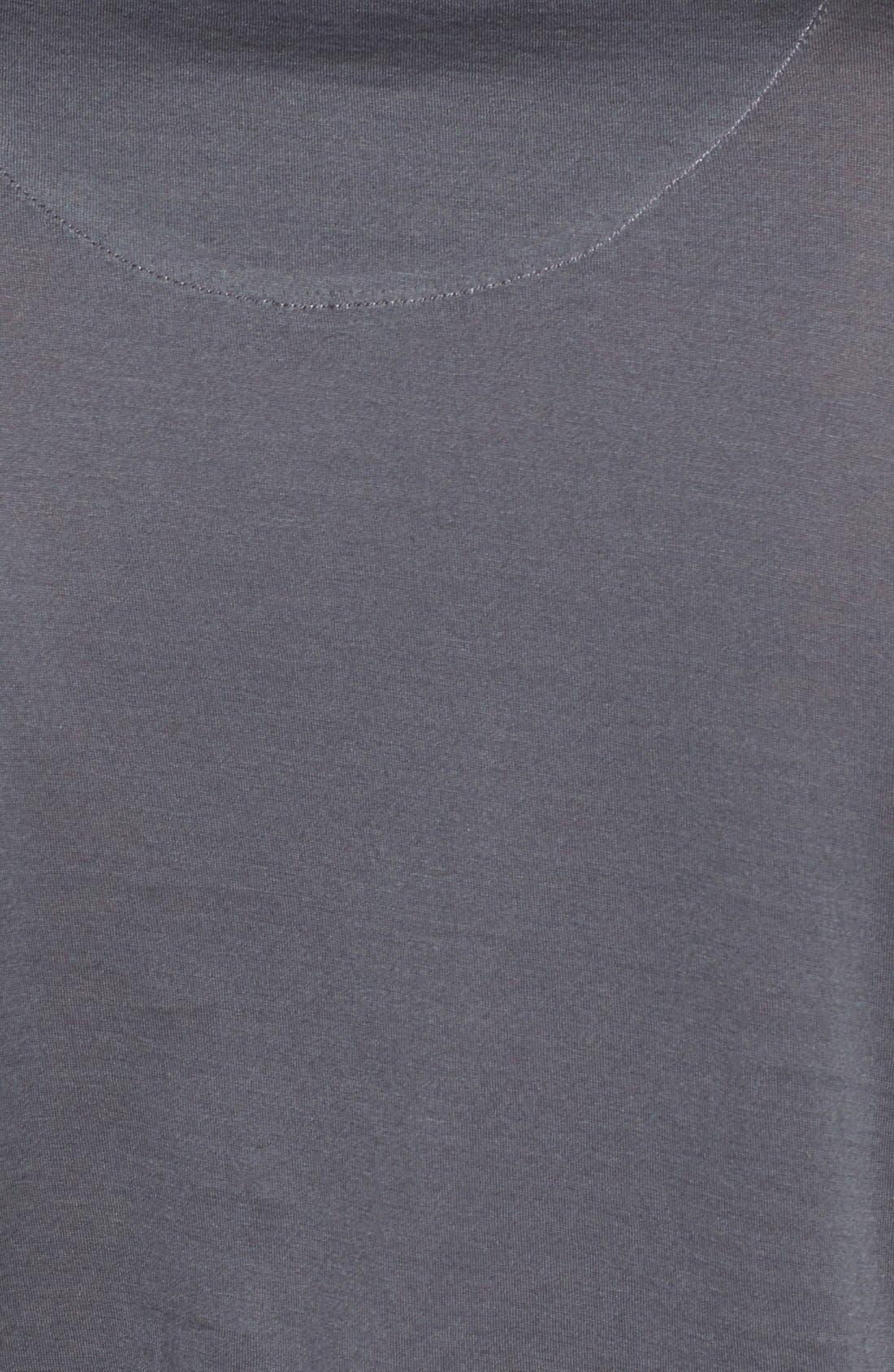 'Down Time' Crewneck T-Shirt,                             Alternate thumbnail 3, color,                             030