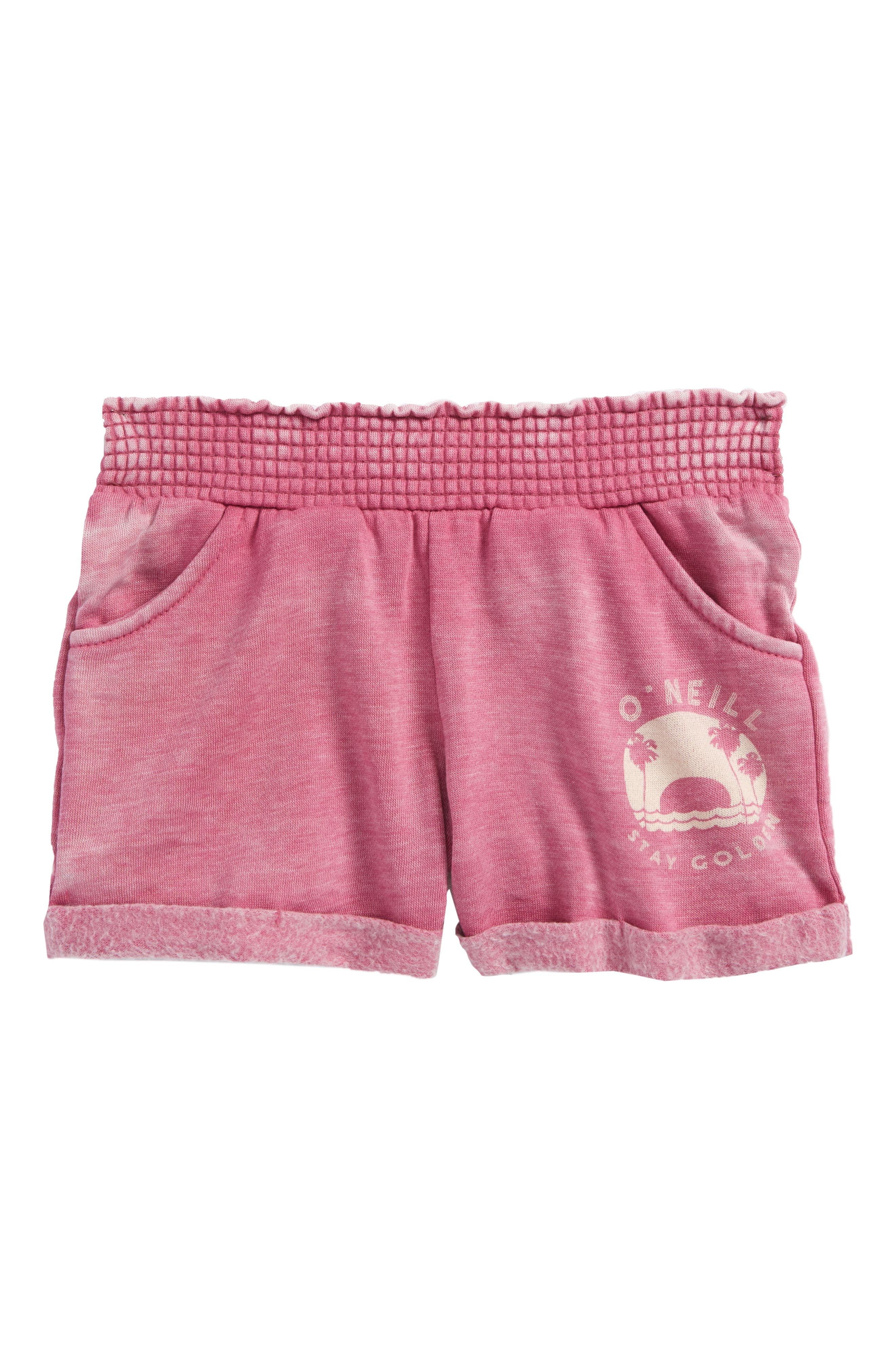 Horizon Shorts,                             Main thumbnail 1, color,                             WILD FLOWER