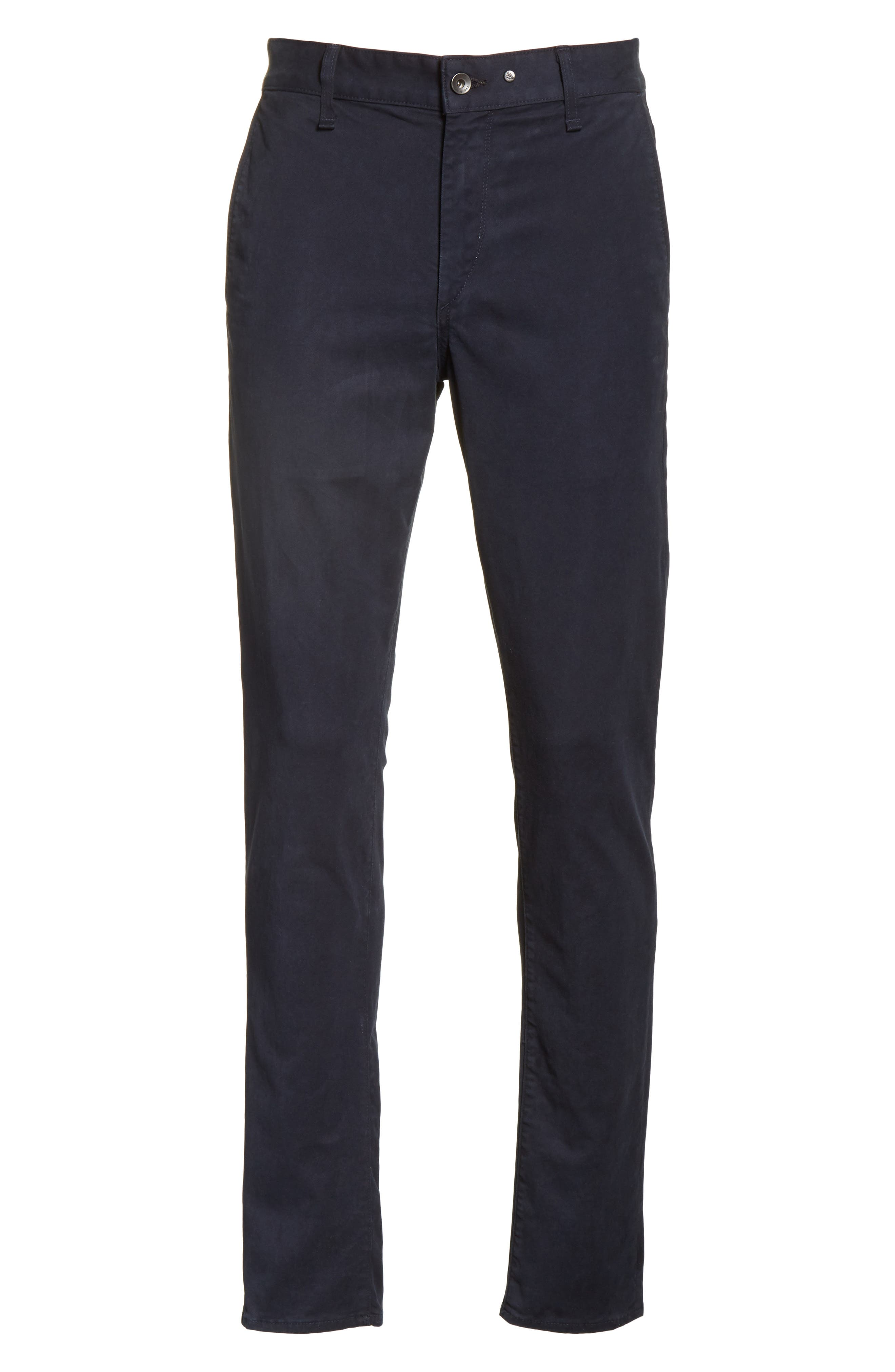 Fit 1 Chinos,                             Alternate thumbnail 6, color,                             NAVY