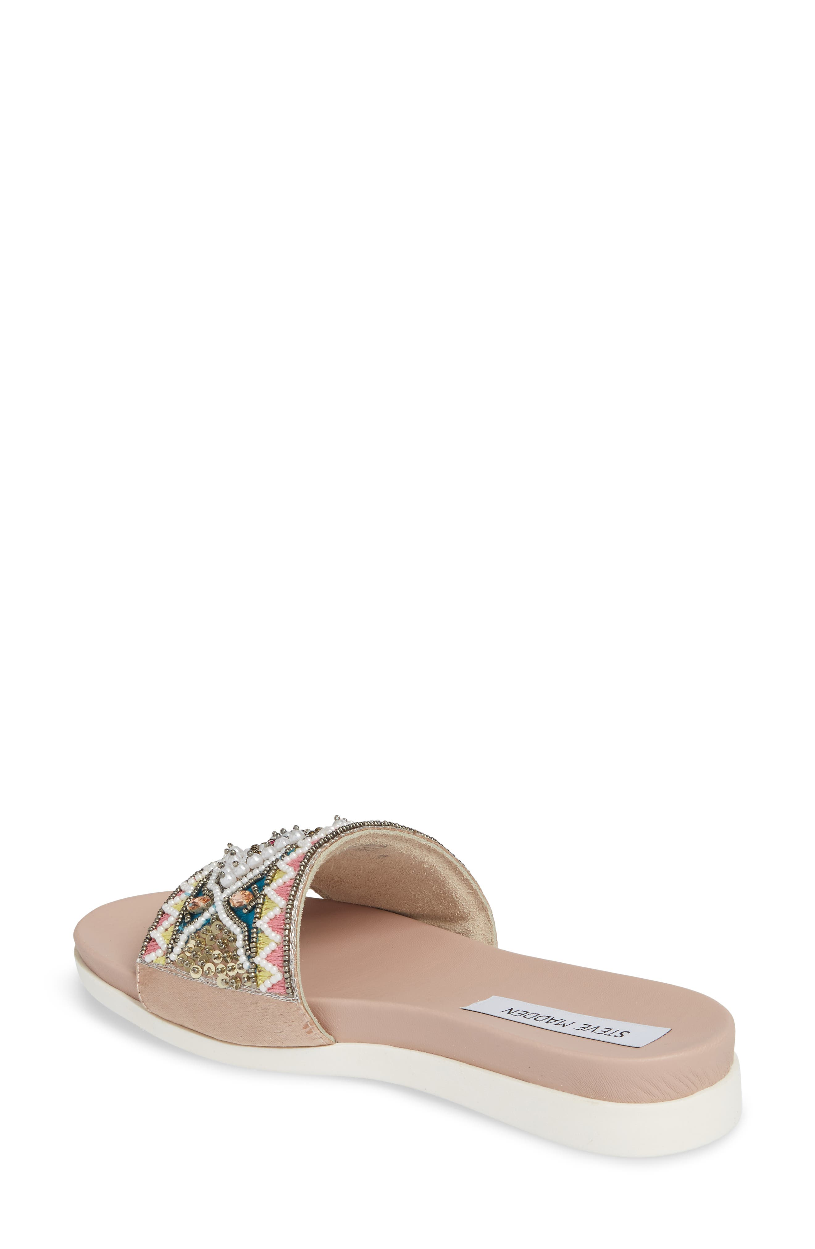 Thalia Beaded Slide Sandal,                             Alternate thumbnail 2, color,                             400