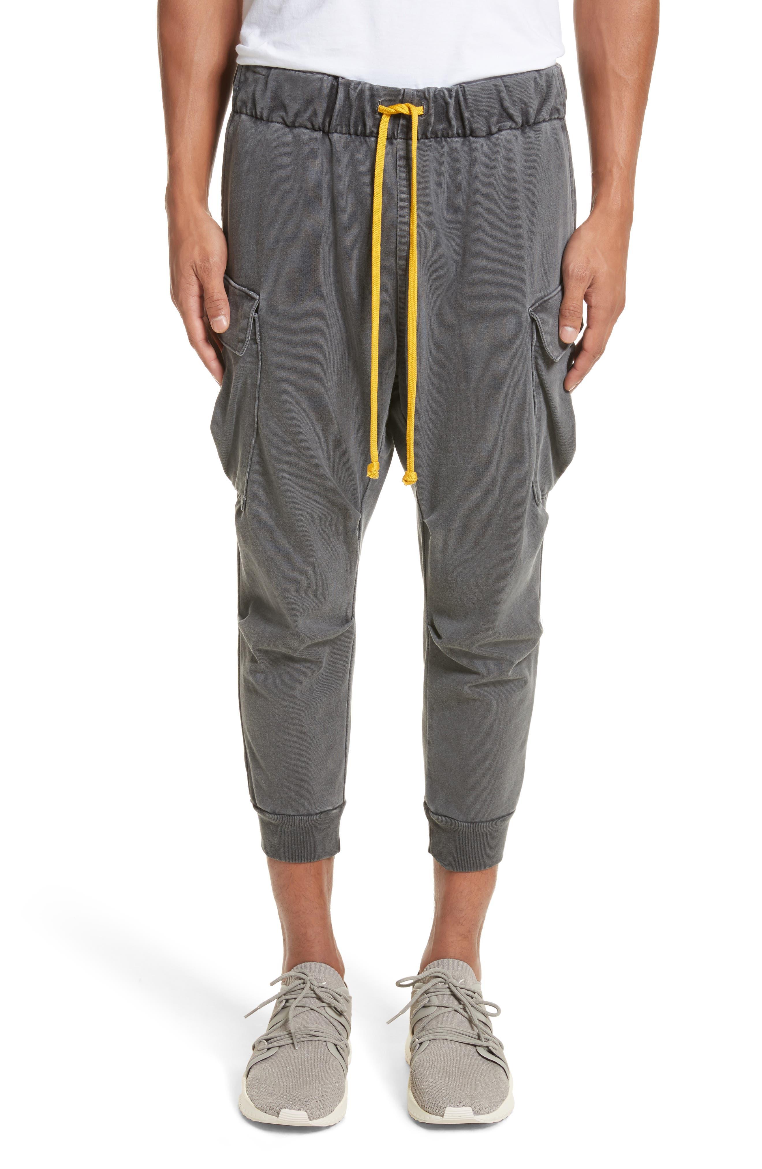 Geri Cropped Jogger Cargo Pants,                             Main thumbnail 1, color,                             989