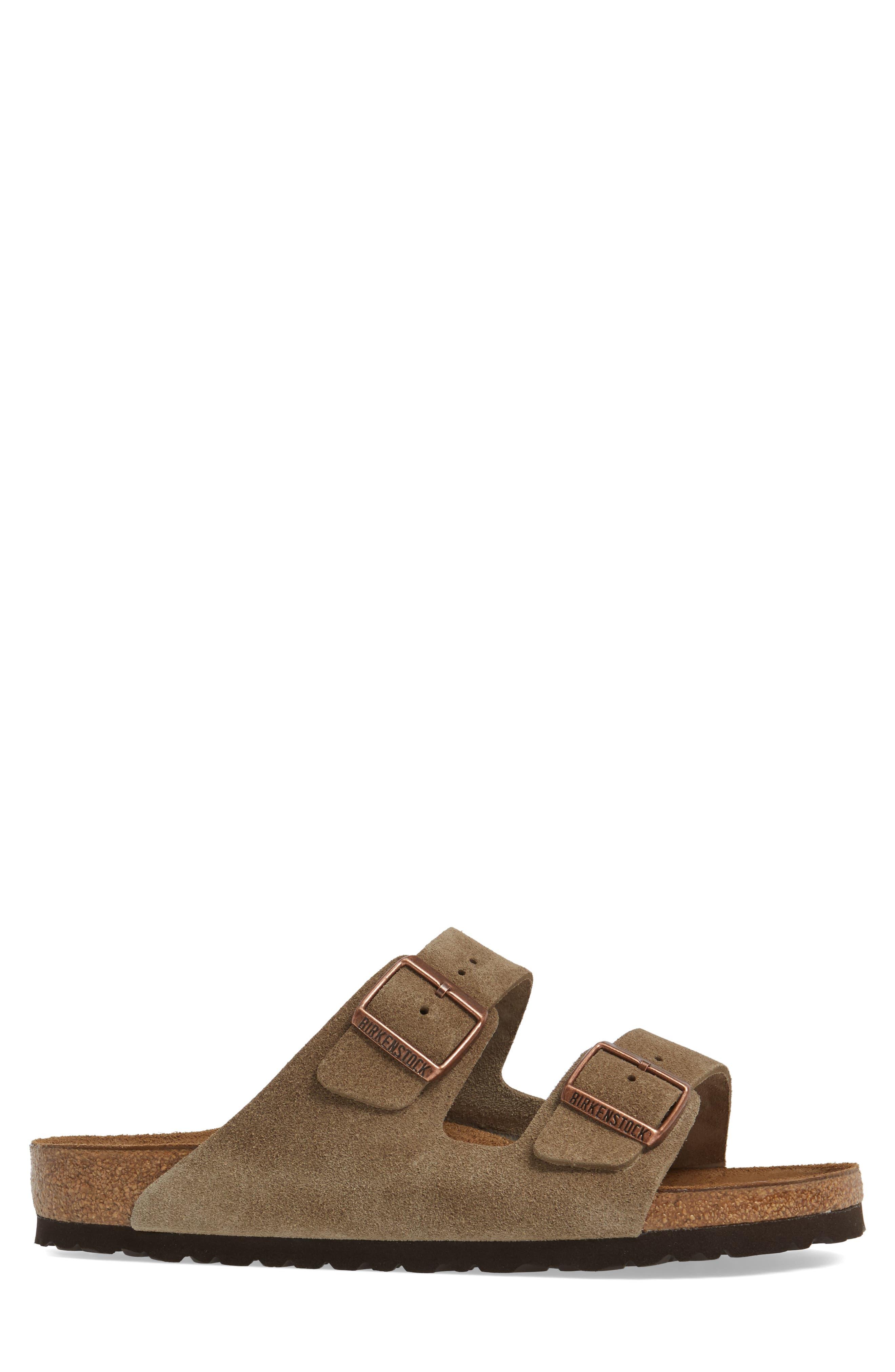 'Arizona' Sandal,                             Alternate thumbnail 4, color,                             TAUPE