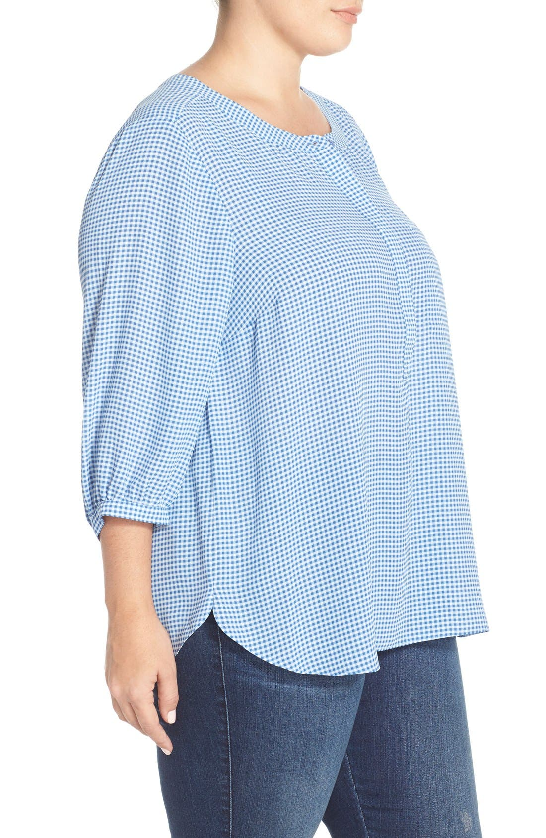 Henley Top,                             Alternate thumbnail 303, color,