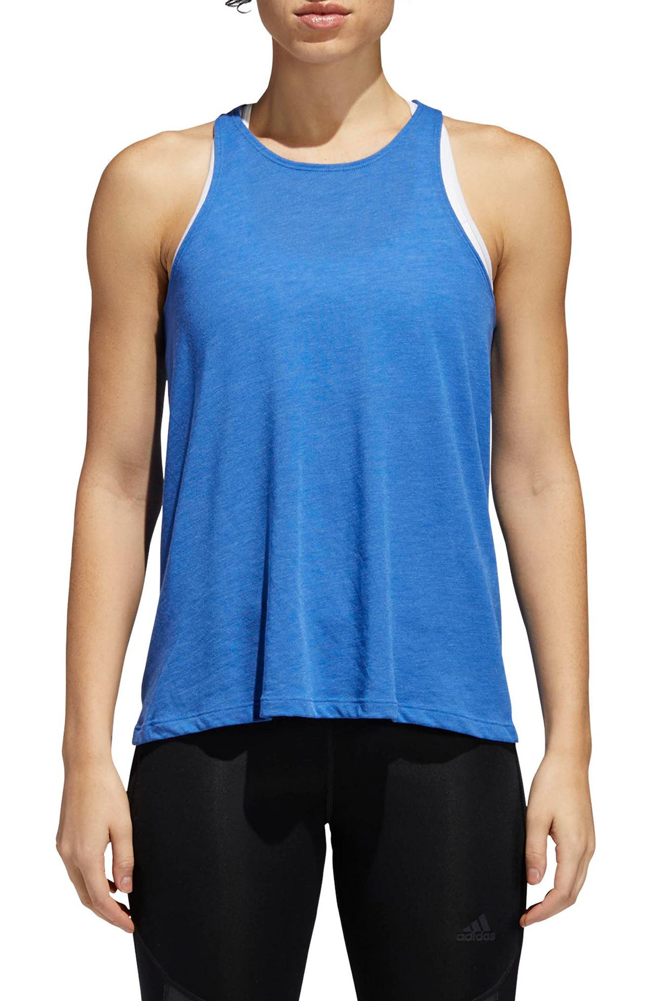 Performer Open Back Tank,                             Main thumbnail 3, color,