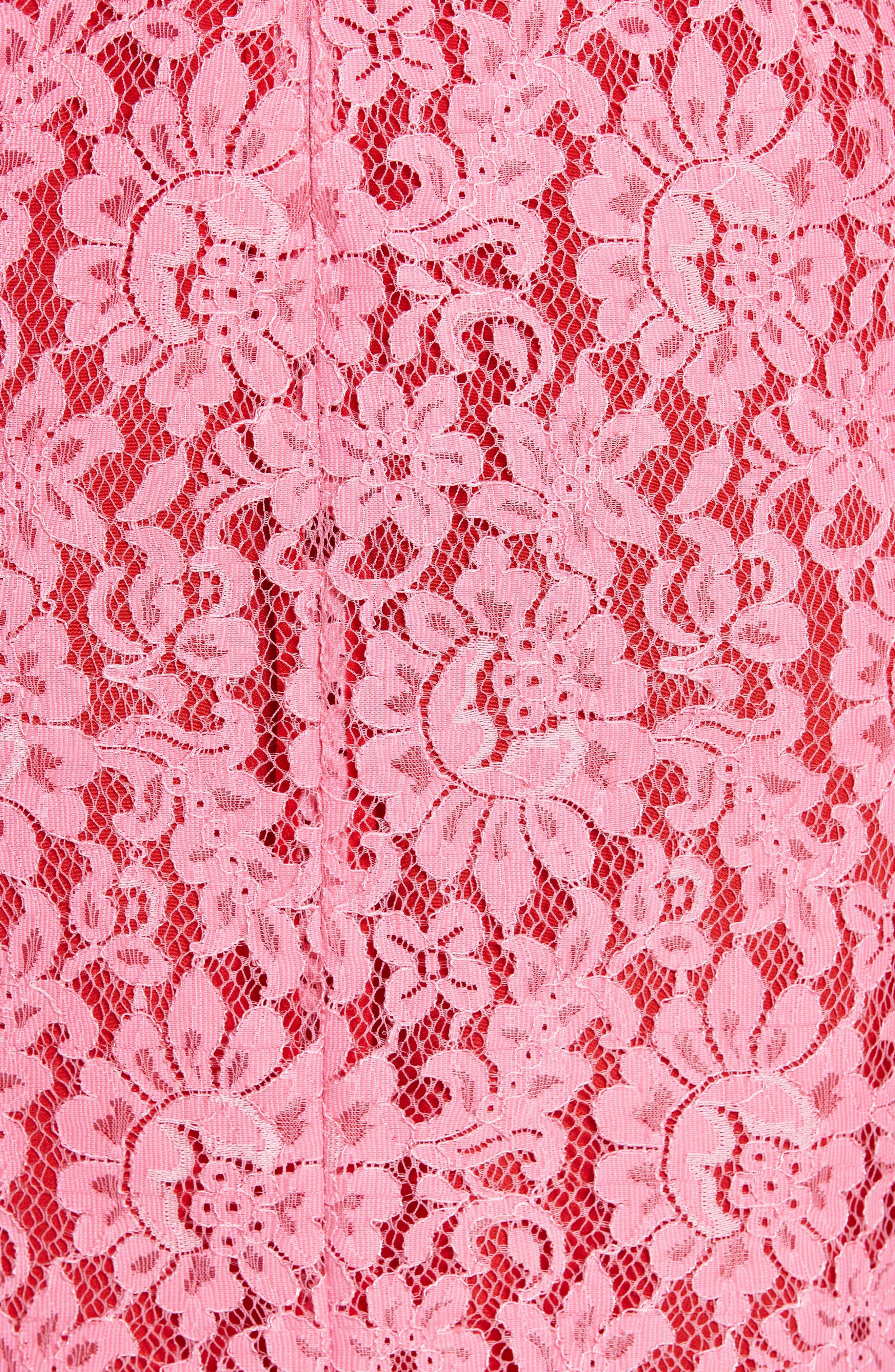 Lace Pencil Skirt,                             Alternate thumbnail 5, color,                             683