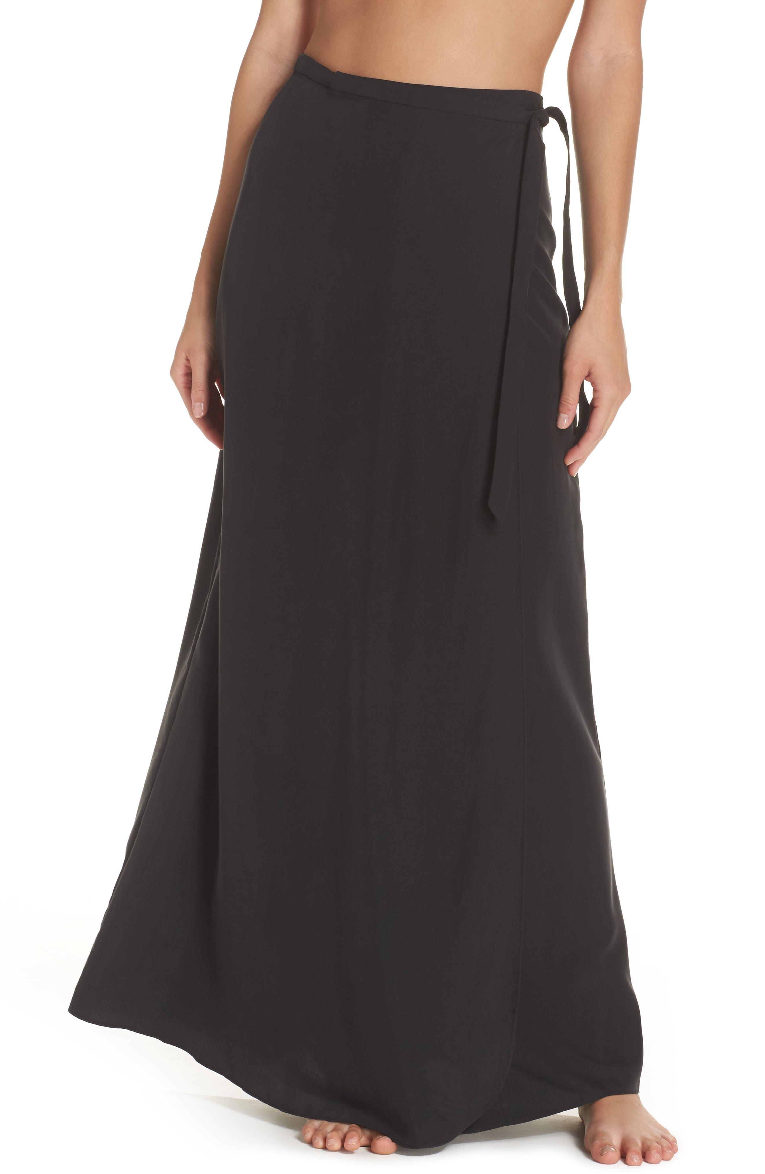 Lasting Impressions Cover-Up Maxi Skirt,                             Main thumbnail 1, color,                             001