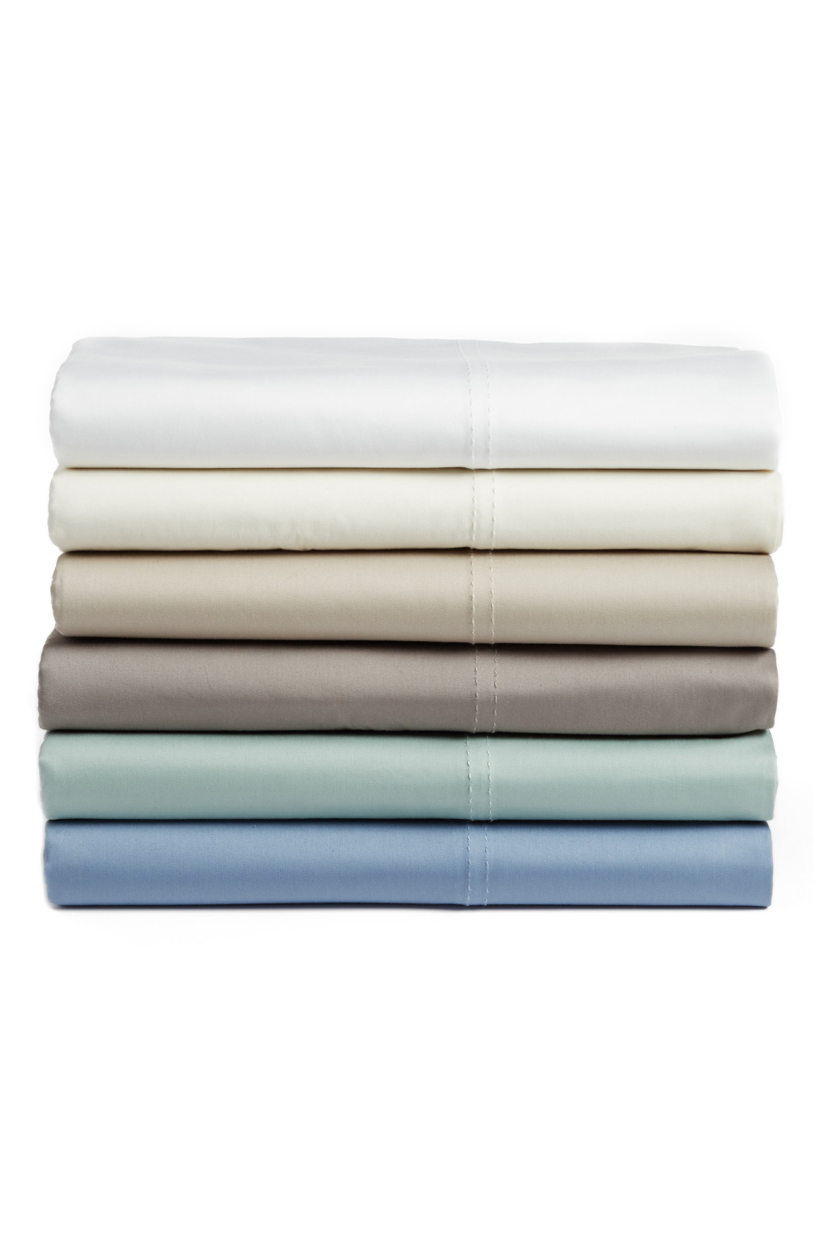 400 Thread Count Organic Cotton Sateen Sheet Set,                             Alternate thumbnail 38, color,