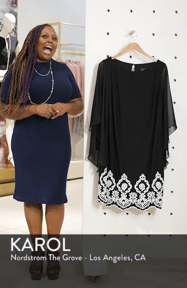 Beaded Hem Short Shift Dress, sales video thumbnail
