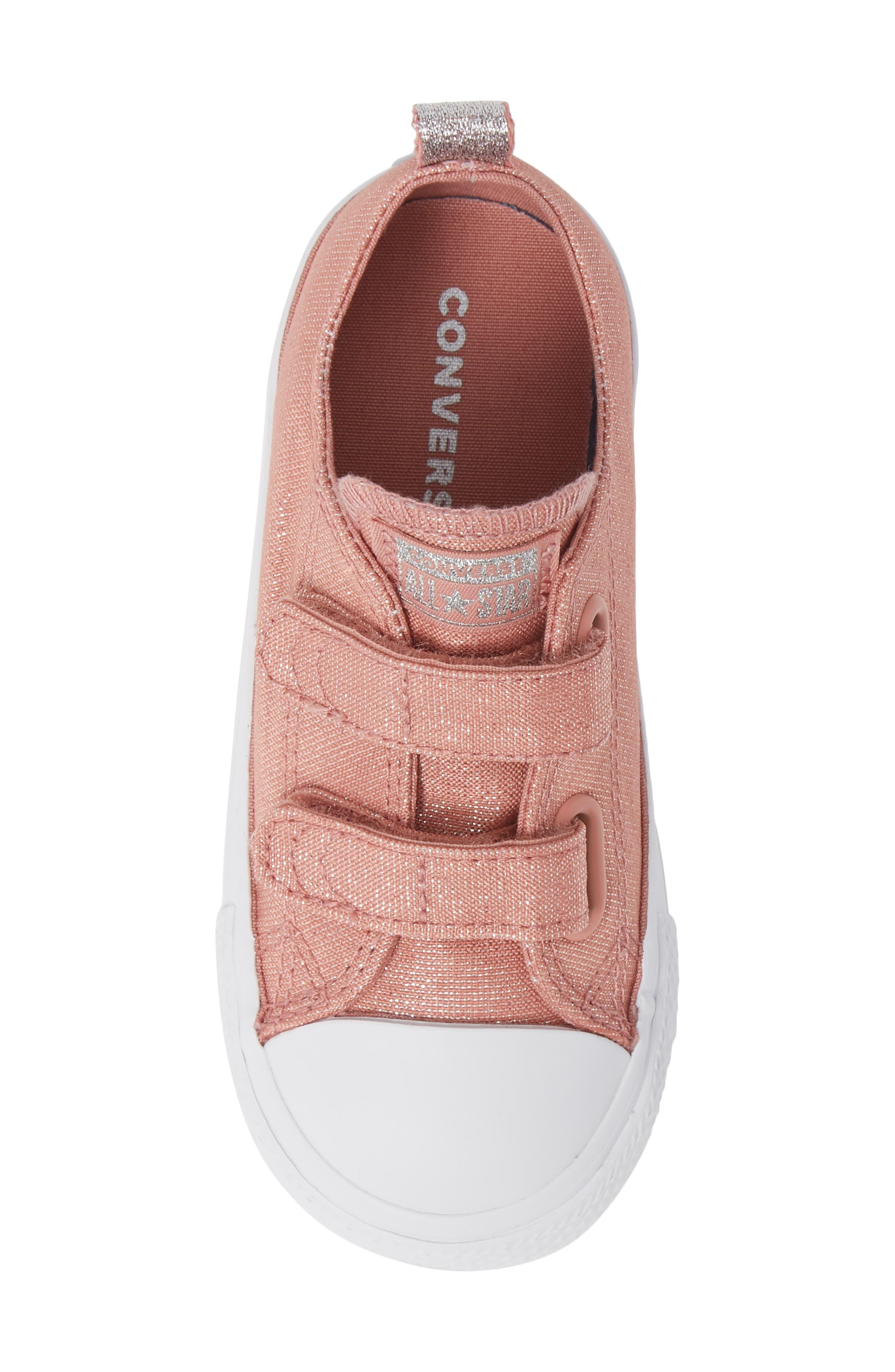 All Star<sup>®</sup> Fairy Dust Sneaker,                             Alternate thumbnail 5, color,                             RUST PINK