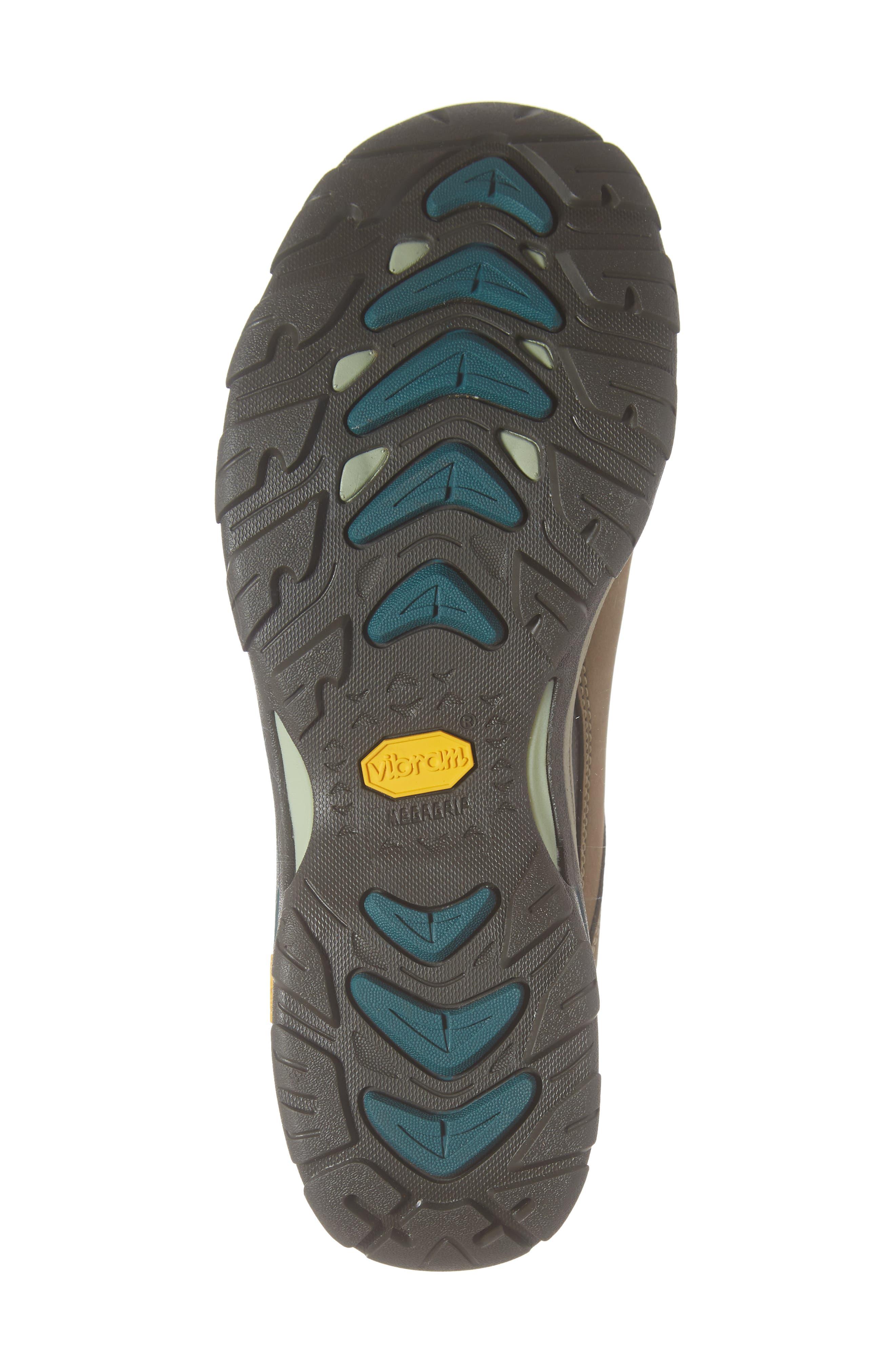 Ahnu by Teva Montara III Waterproof Hiking Boot,                             Alternate thumbnail 6, color,                             CHOCOLATE CHIP NUBUCK LEATHER