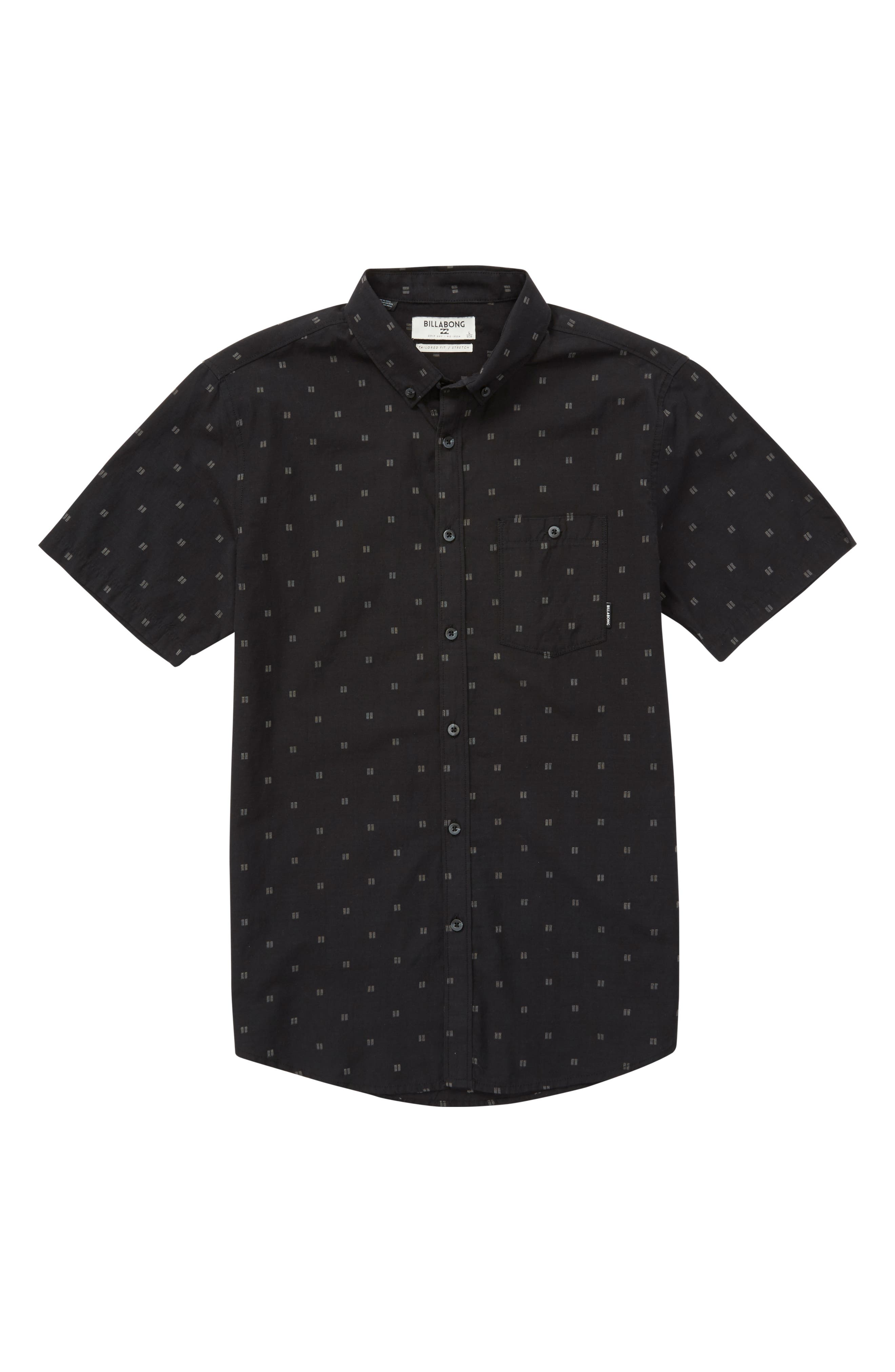 All Day Jacquard Woven Shirt,                         Main,                         color, 001