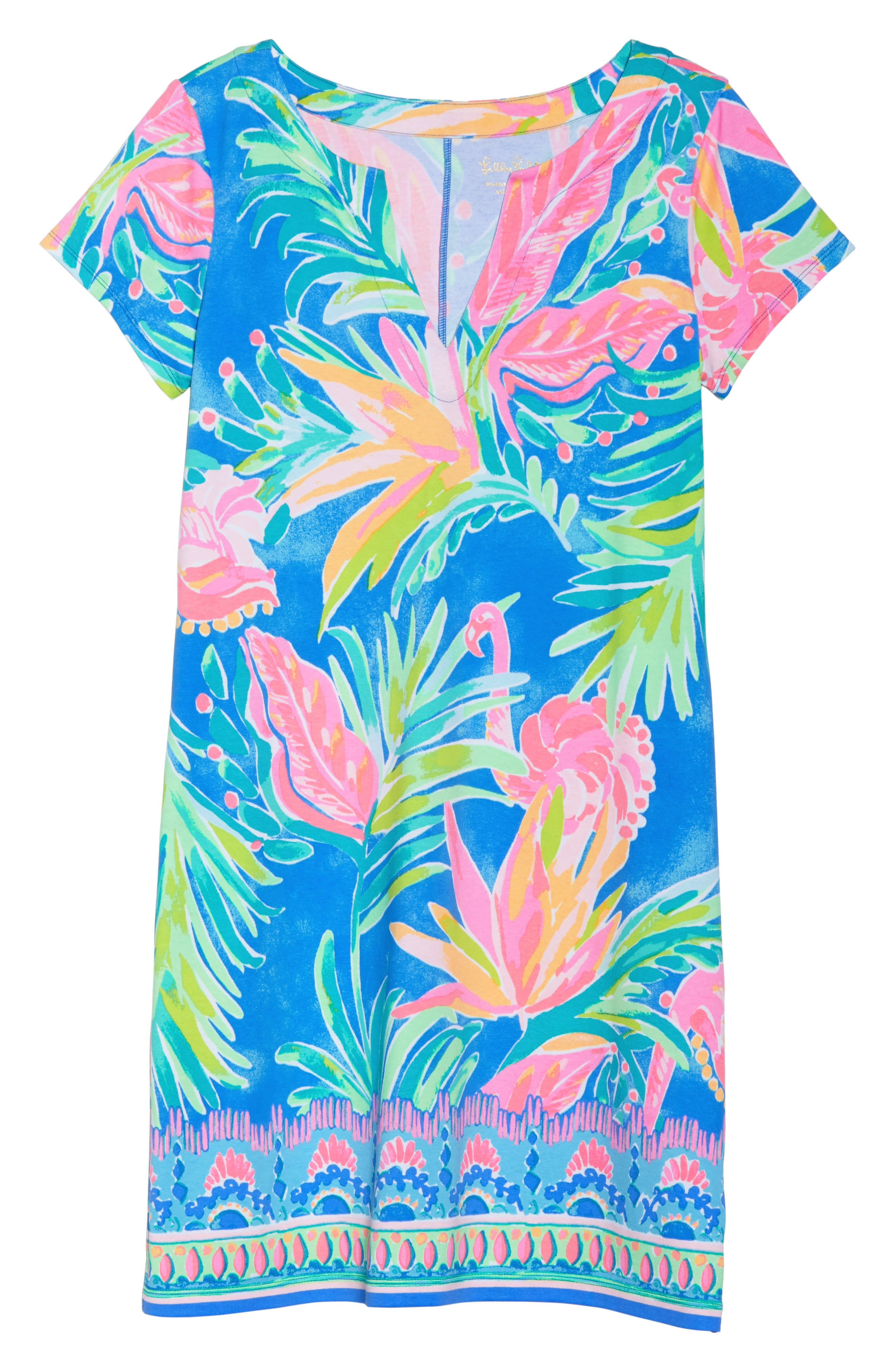 Sophiletta UPF 50+ Dress,                             Alternate thumbnail 7, color,                             420