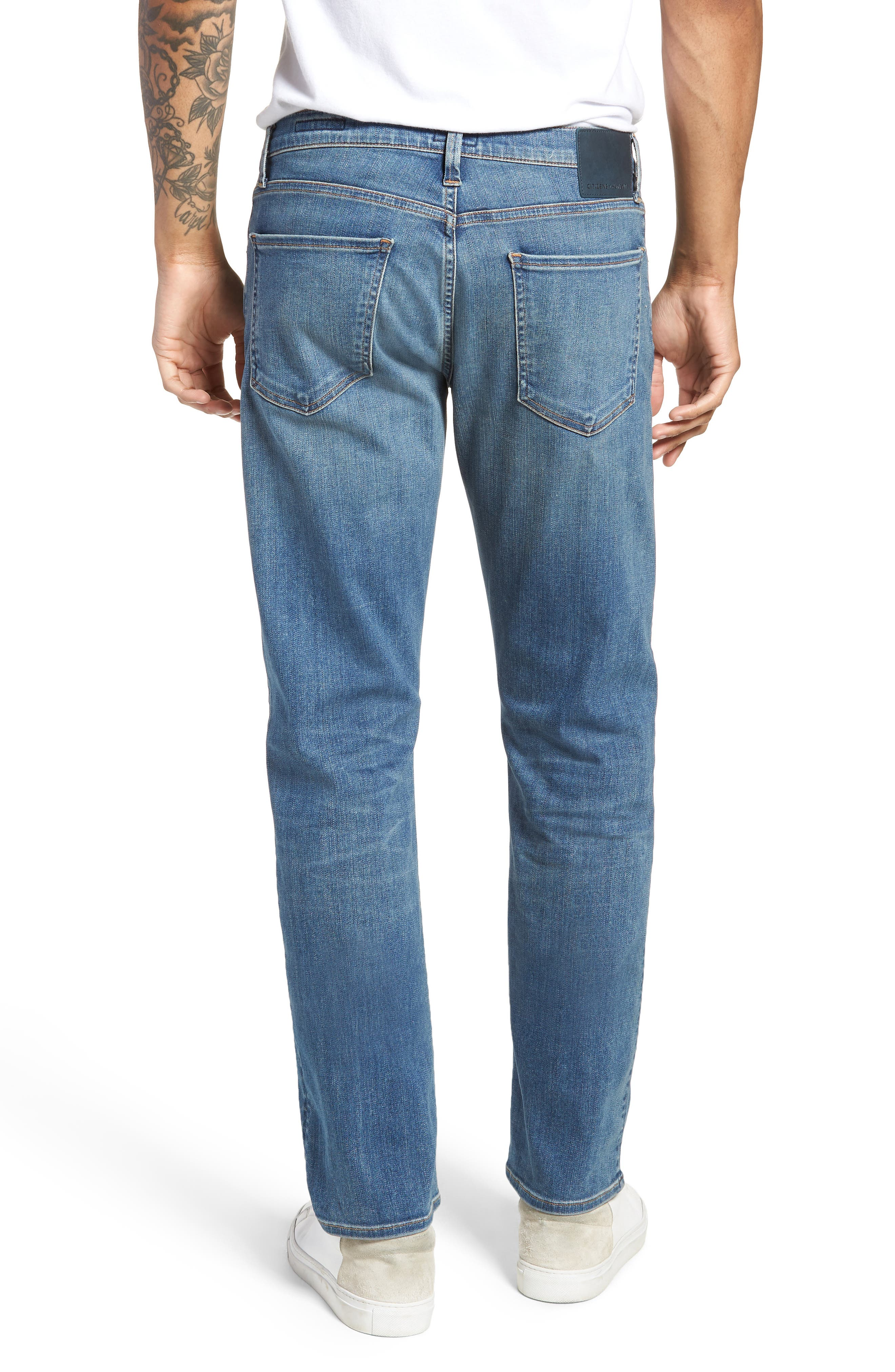 Perform - Gage Slim Straight Leg Jeans,                             Alternate thumbnail 2, color,                             456