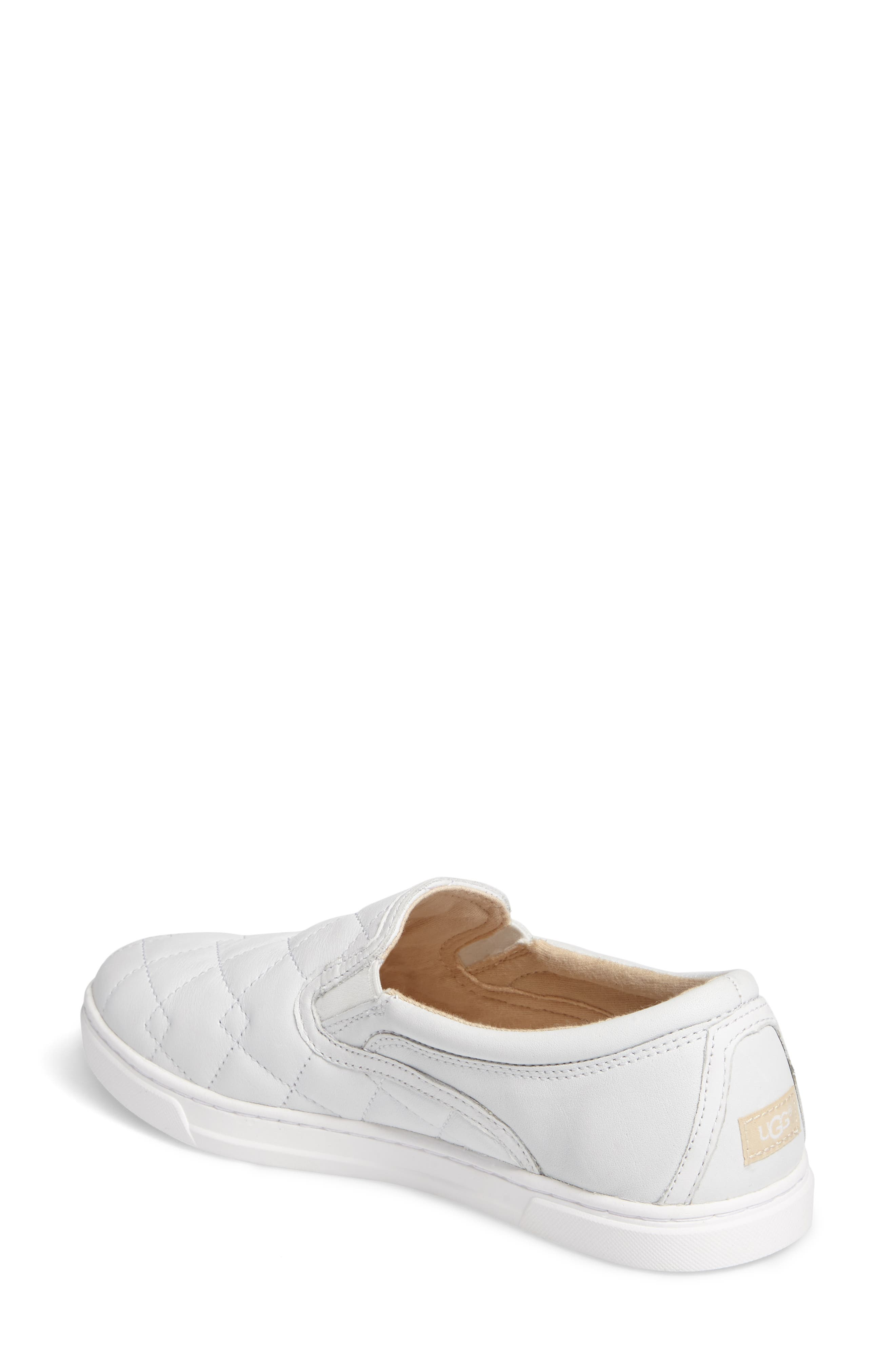Fierce Deco Quilted Slip-On Sneaker,                             Alternate thumbnail 2, color,                             100