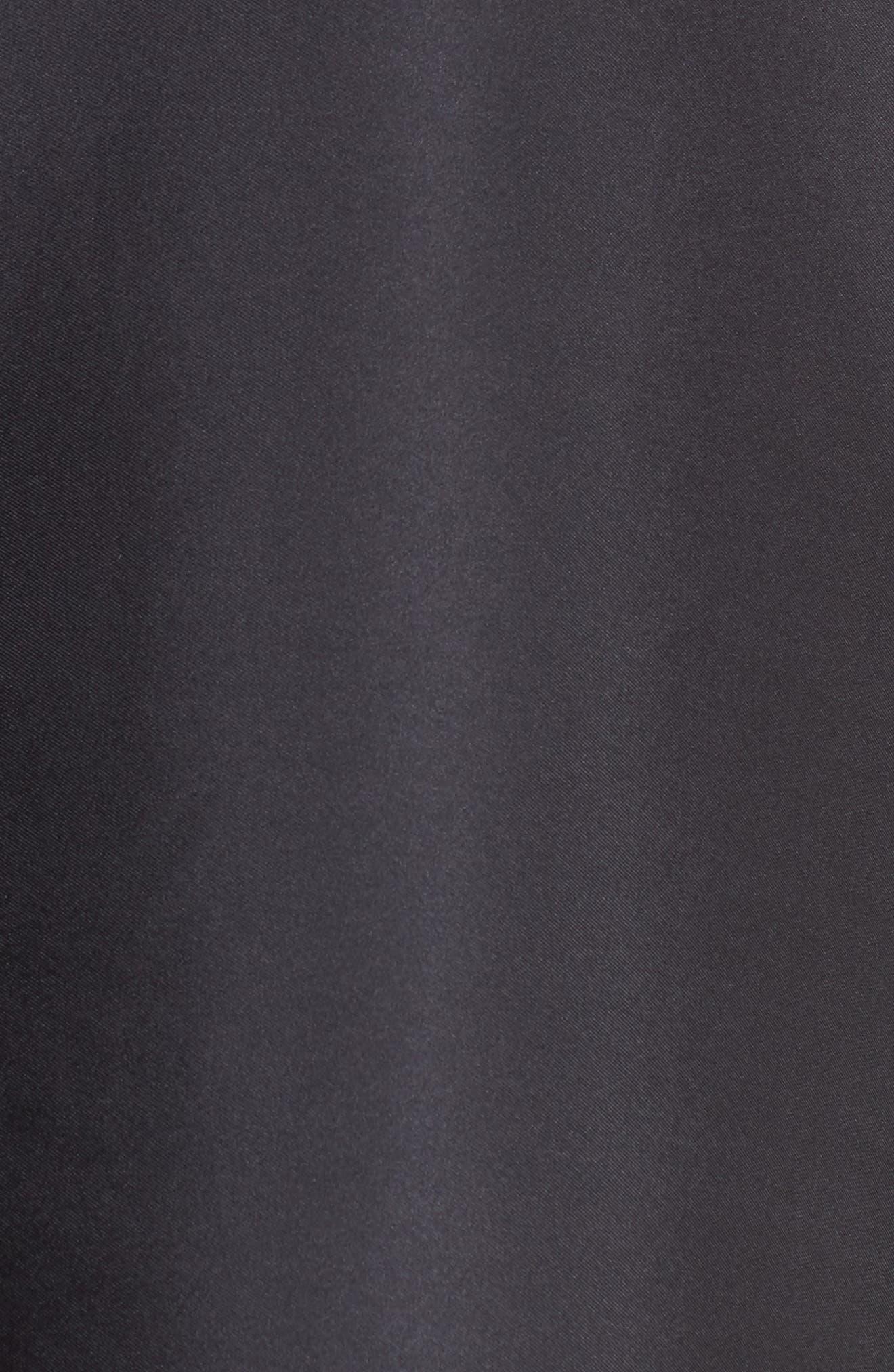 Everyday Silk Wrap,                             Alternate thumbnail 5, color,                             BLACK