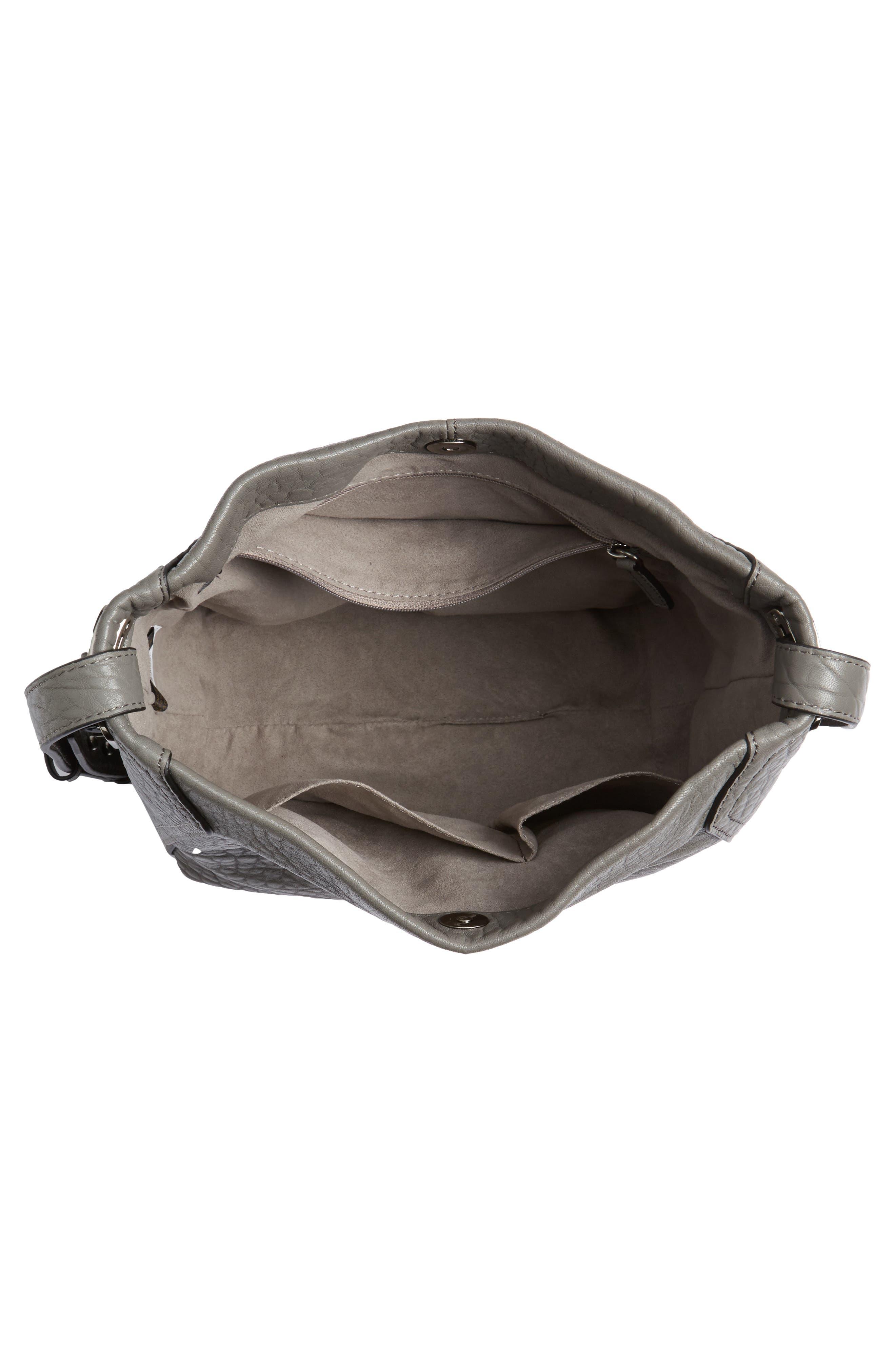 Fava Leather Bucket Bag,                             Alternate thumbnail 11, color,