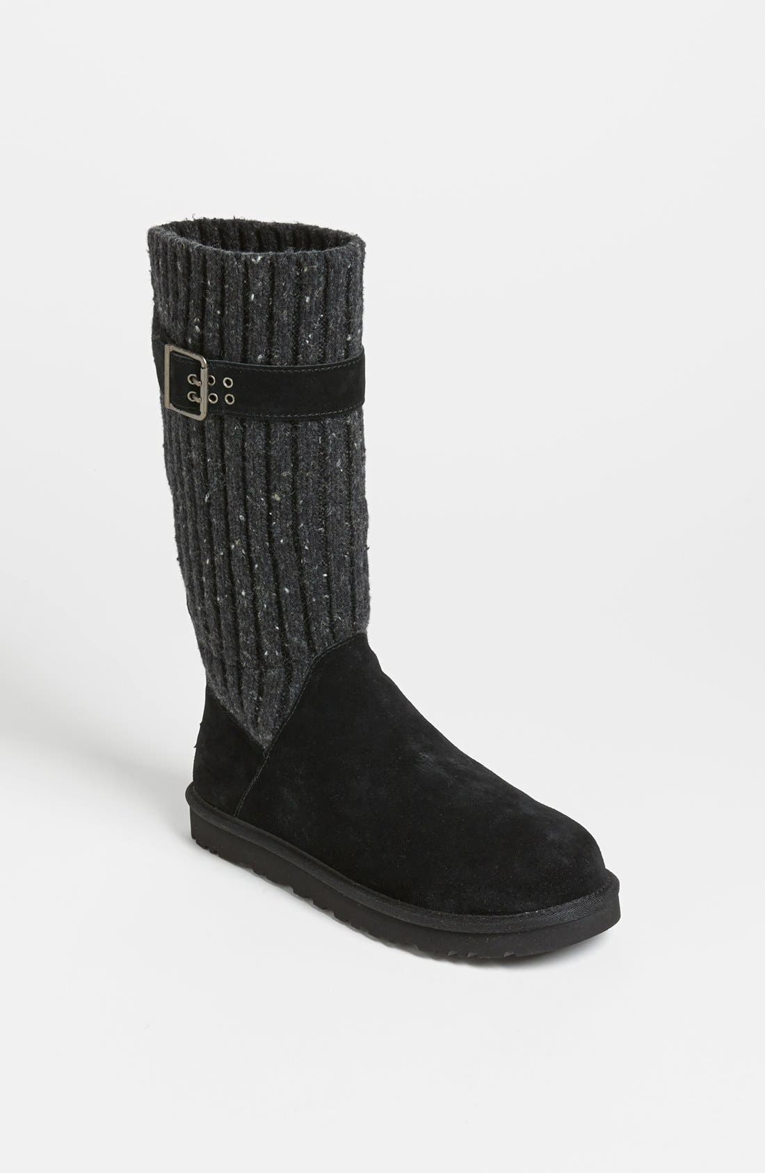 'Cambridge' Boot,                             Alternate thumbnail 4, color,                             001