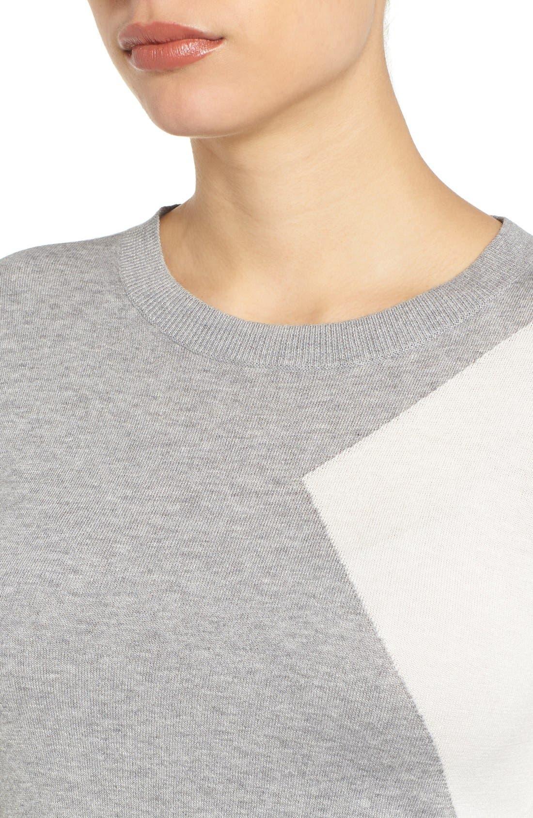 Cotton Blend Pullover,                             Alternate thumbnail 104, color,