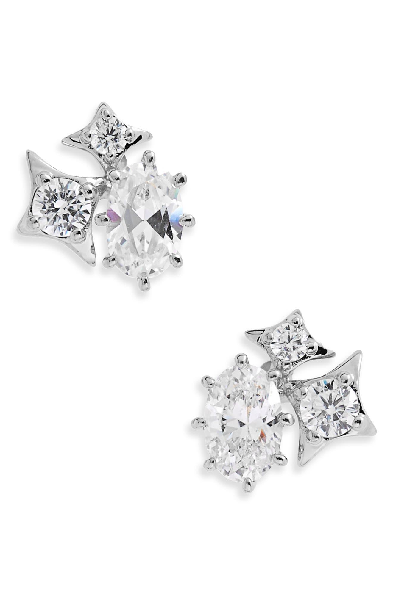 Boho Stud Earrings,                         Main,                         color,