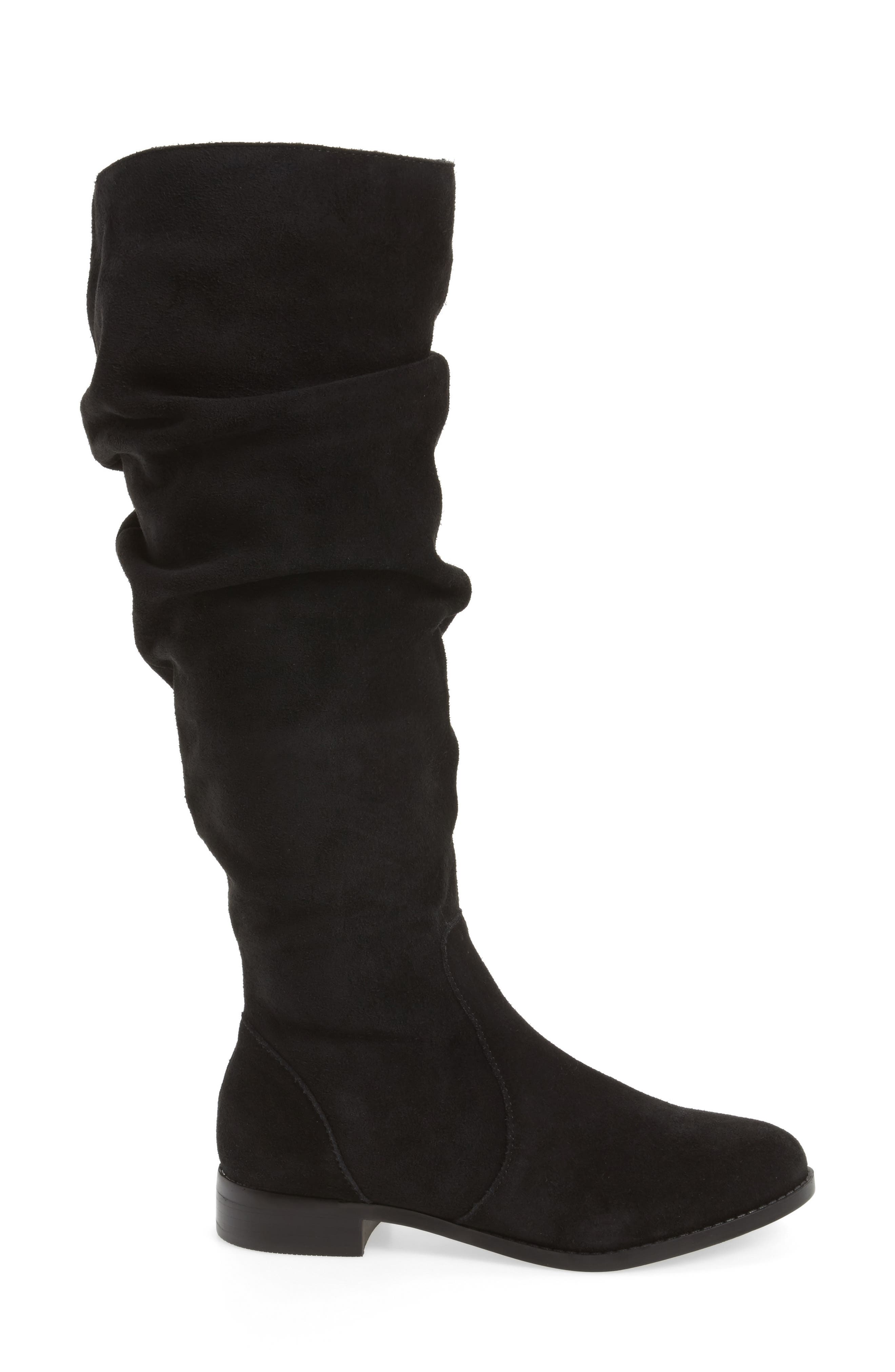 Steve Maddon Beacon Slouchy Knee-High Boot,                             Alternate thumbnail 3, color,                             006