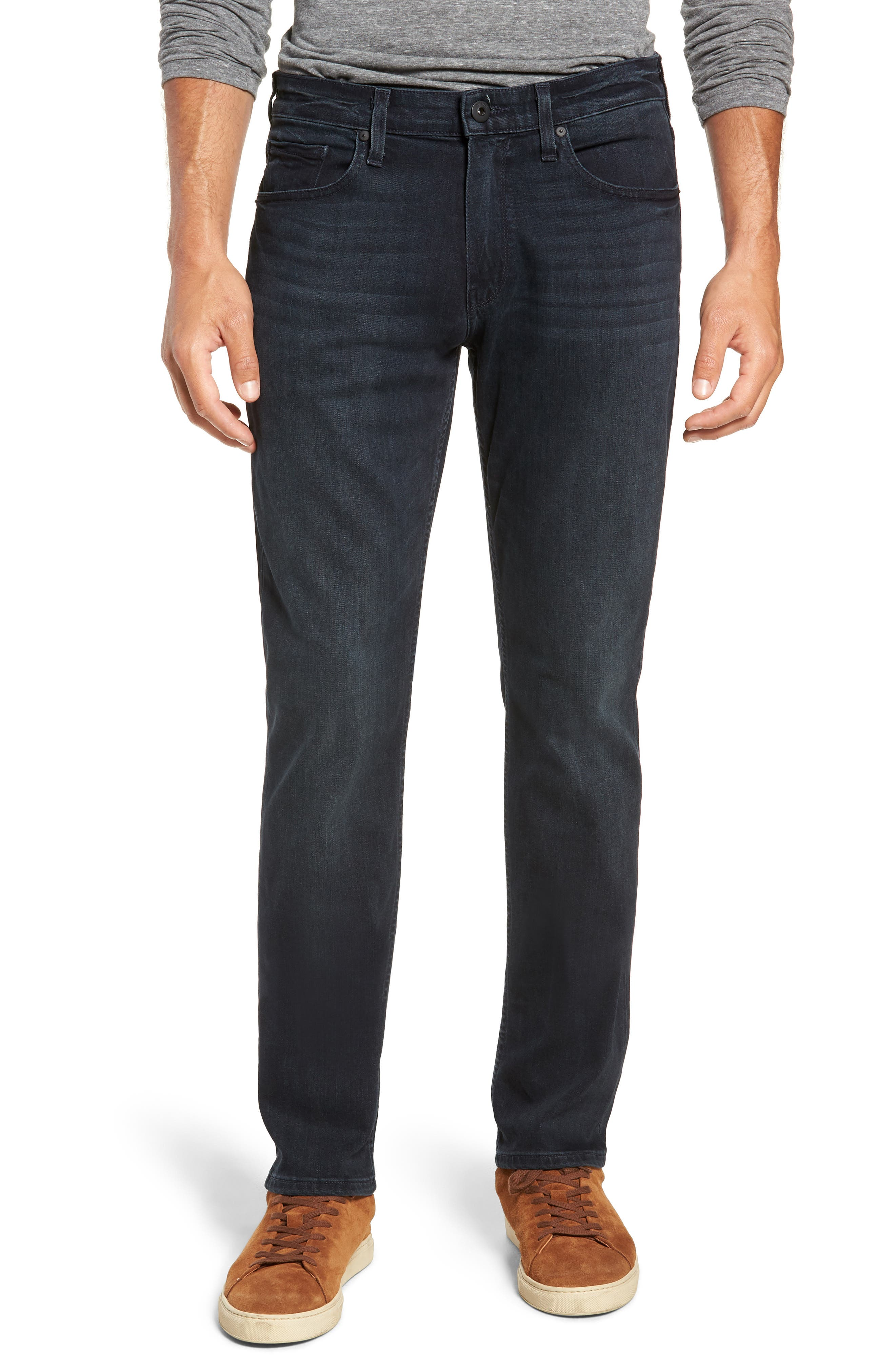 Transcend - Federal Slim Fit Straight Leg Jeans,                             Main thumbnail 1, color,                             BECKETT