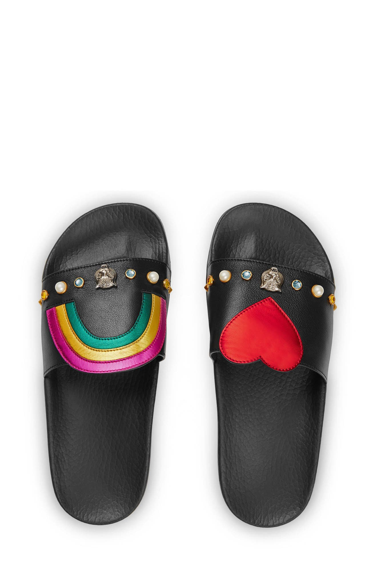 Pursuit Slide Sandal,                             Alternate thumbnail 2, color,                             001