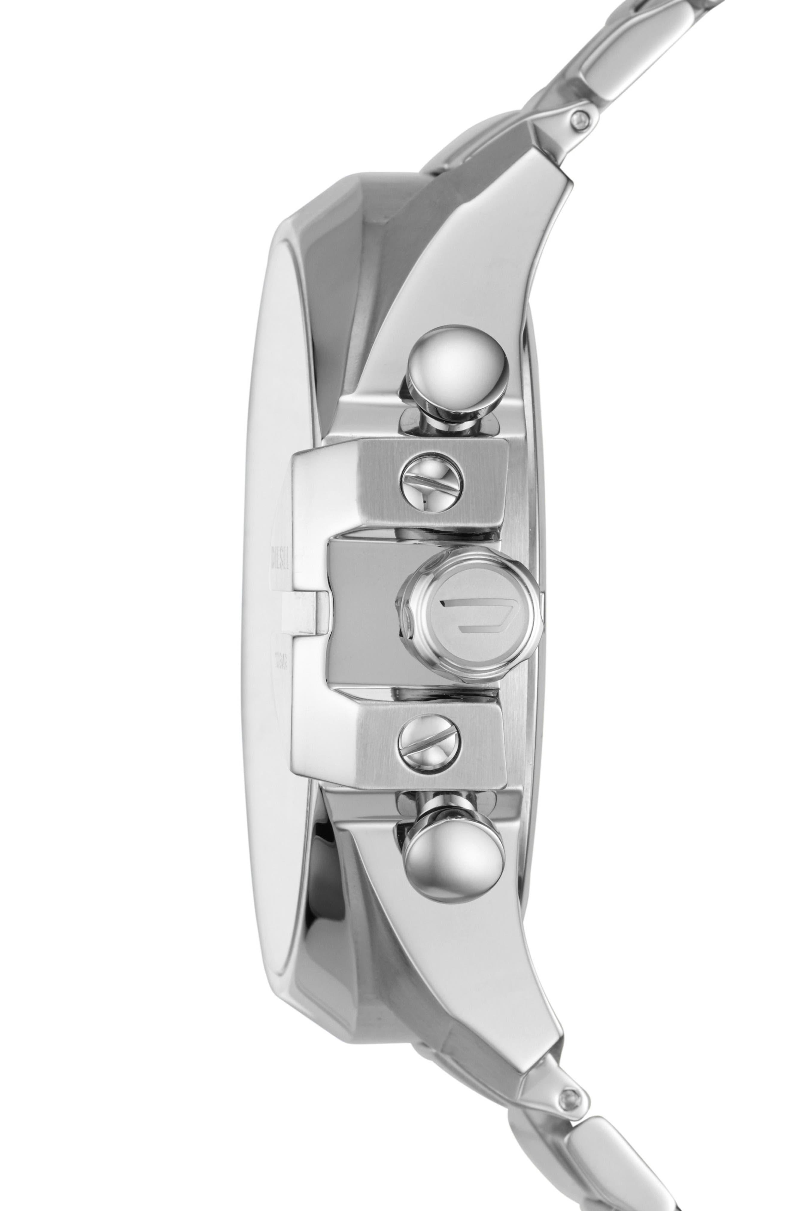 Mega Chief Chronograph Bracelet Watch, 51mm x 59mm,                             Alternate thumbnail 2, color,                             040