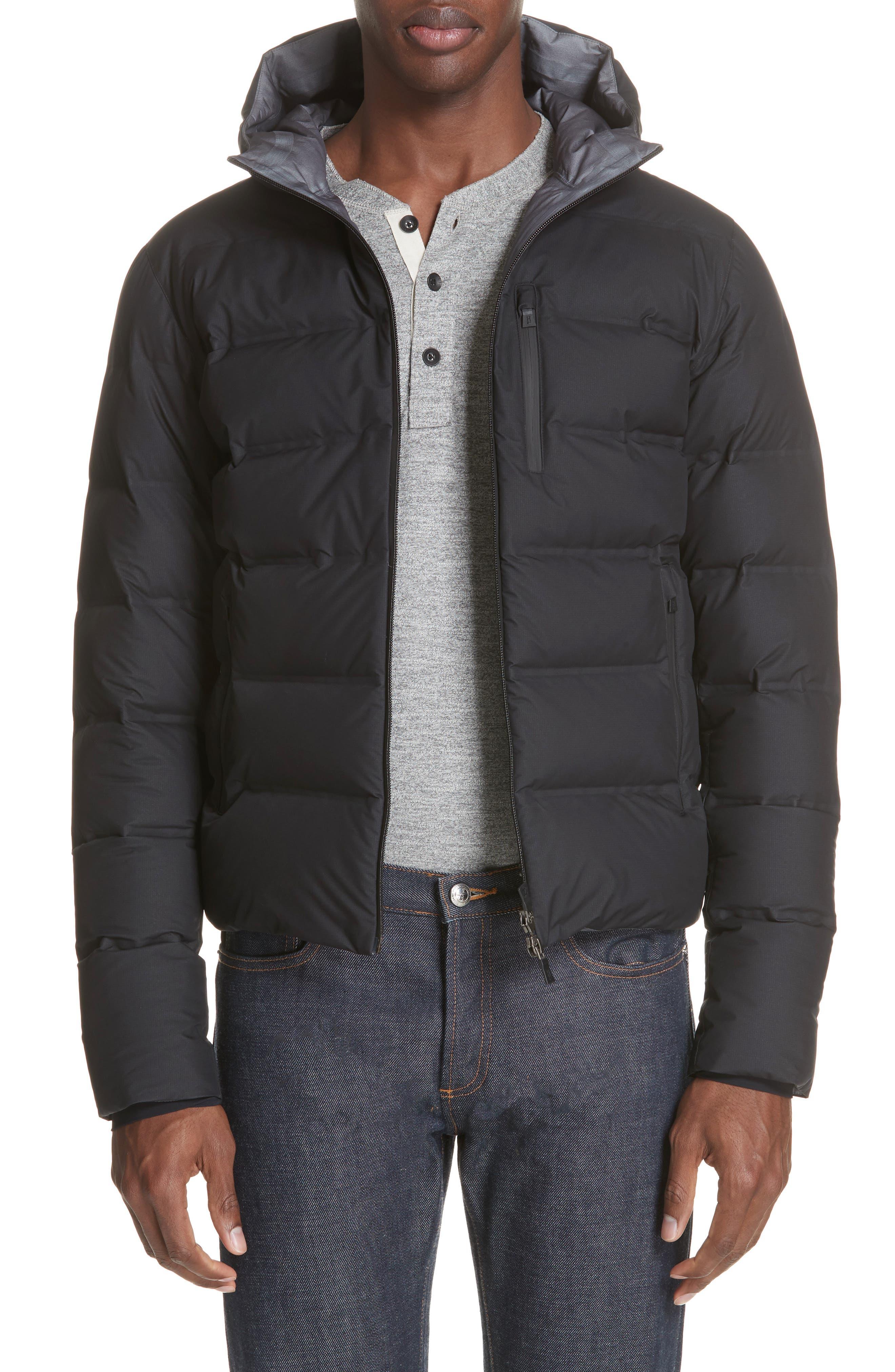 Impact Gore-Tex<sup>®</sup> Down Jacket,                         Main,                         color, BLACK
