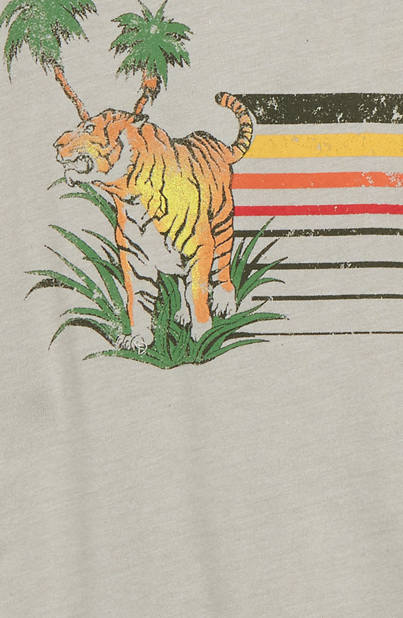 Tiger Terrain Graphic T-Shirt,                             Alternate thumbnail 2, color,                             027