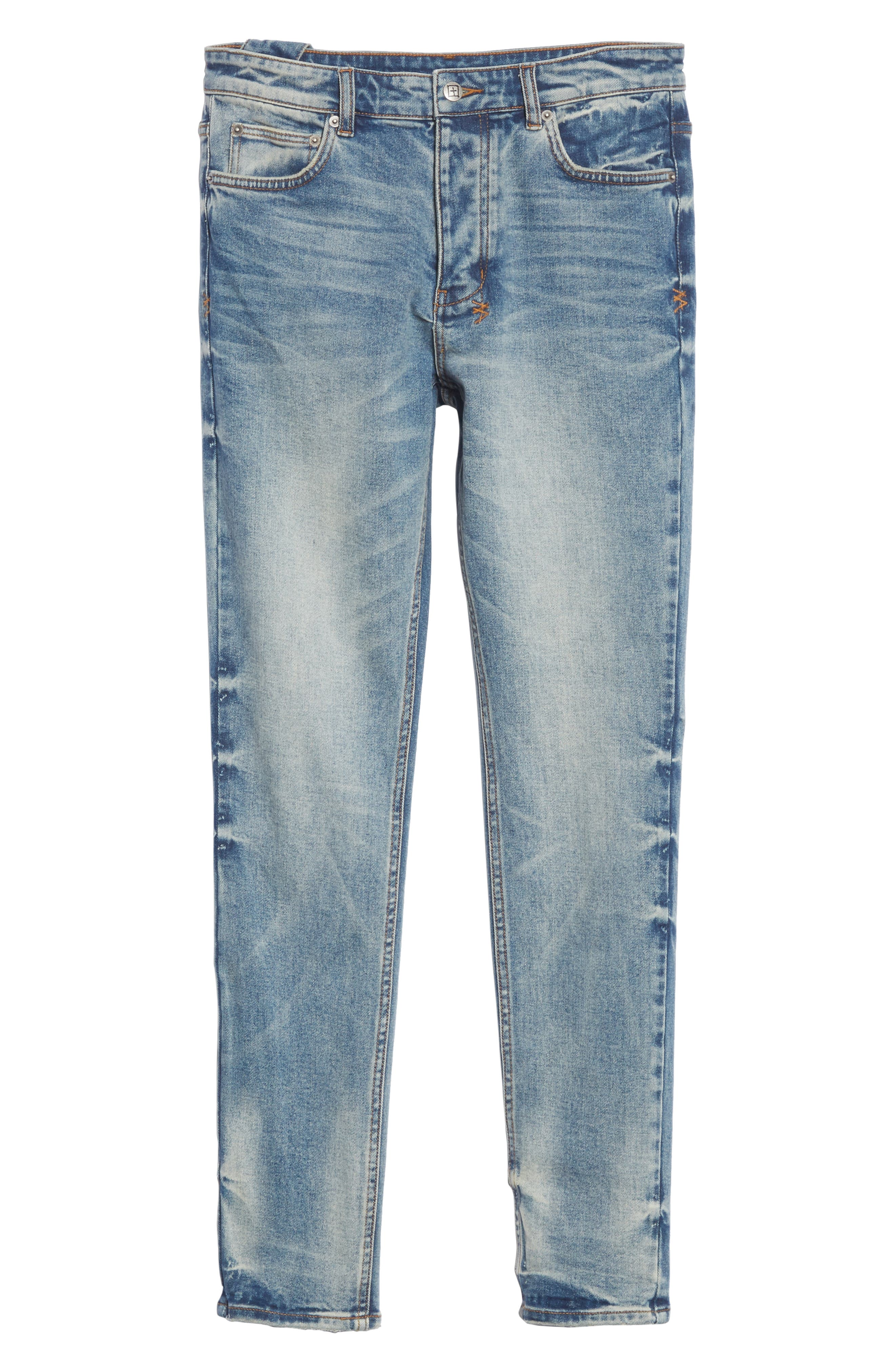 Chitch Pure Dynamite Skinny Fit Jeans,                             Alternate thumbnail 6, color,                             DENIM