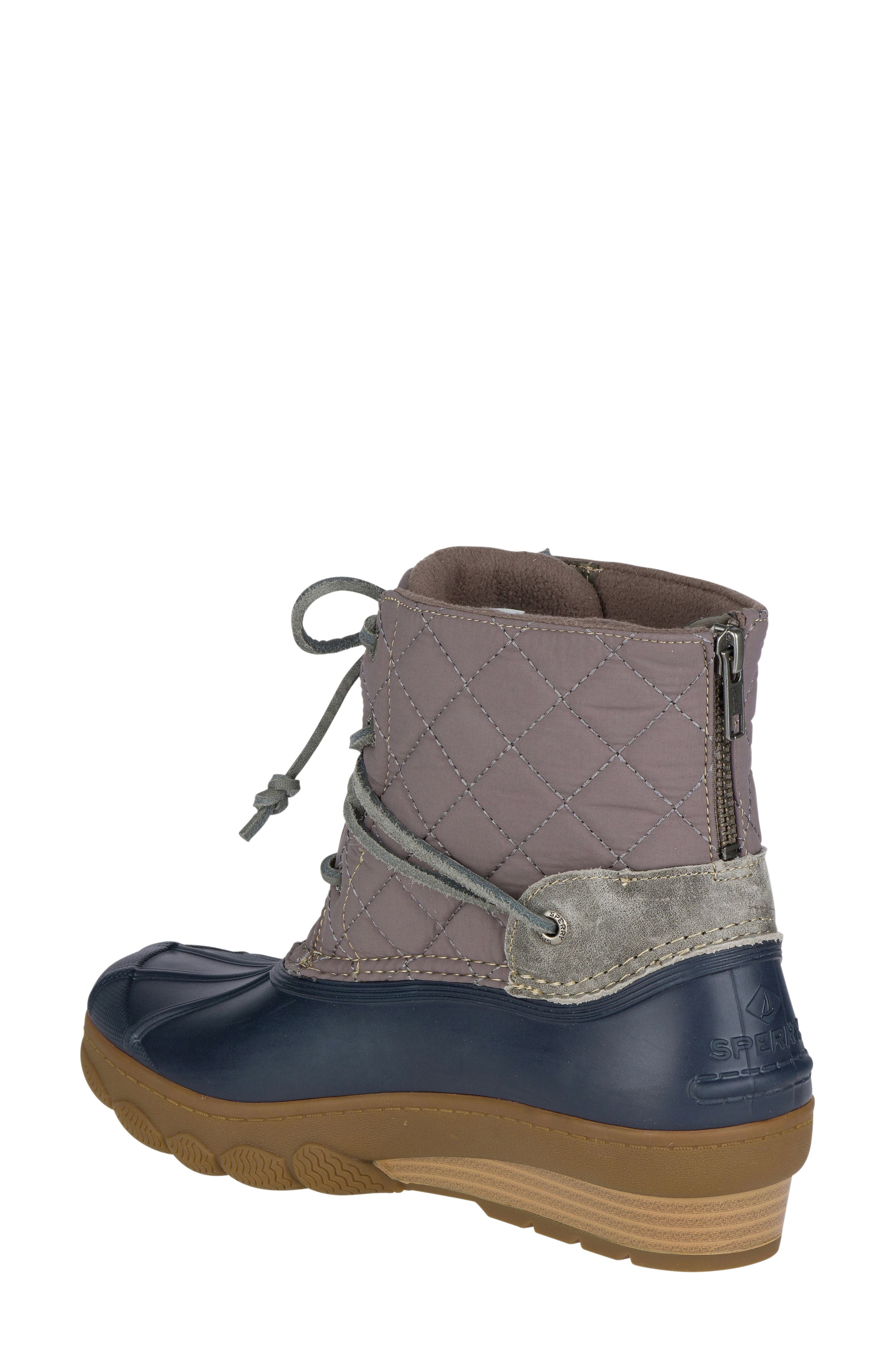 Saltwater Quilted Waterproof Boot,                             Alternate thumbnail 2, color,                             410