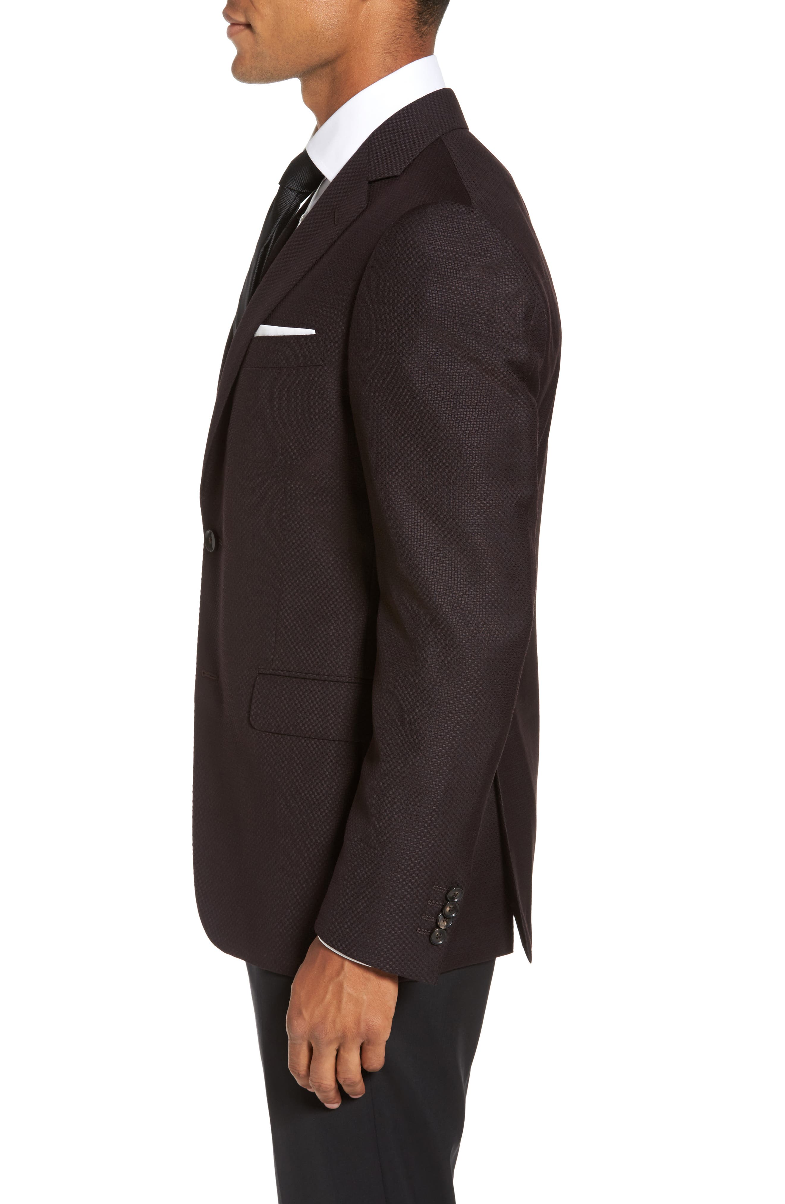 Classic Fit Wool Blazer,                             Alternate thumbnail 3, color,                             932
