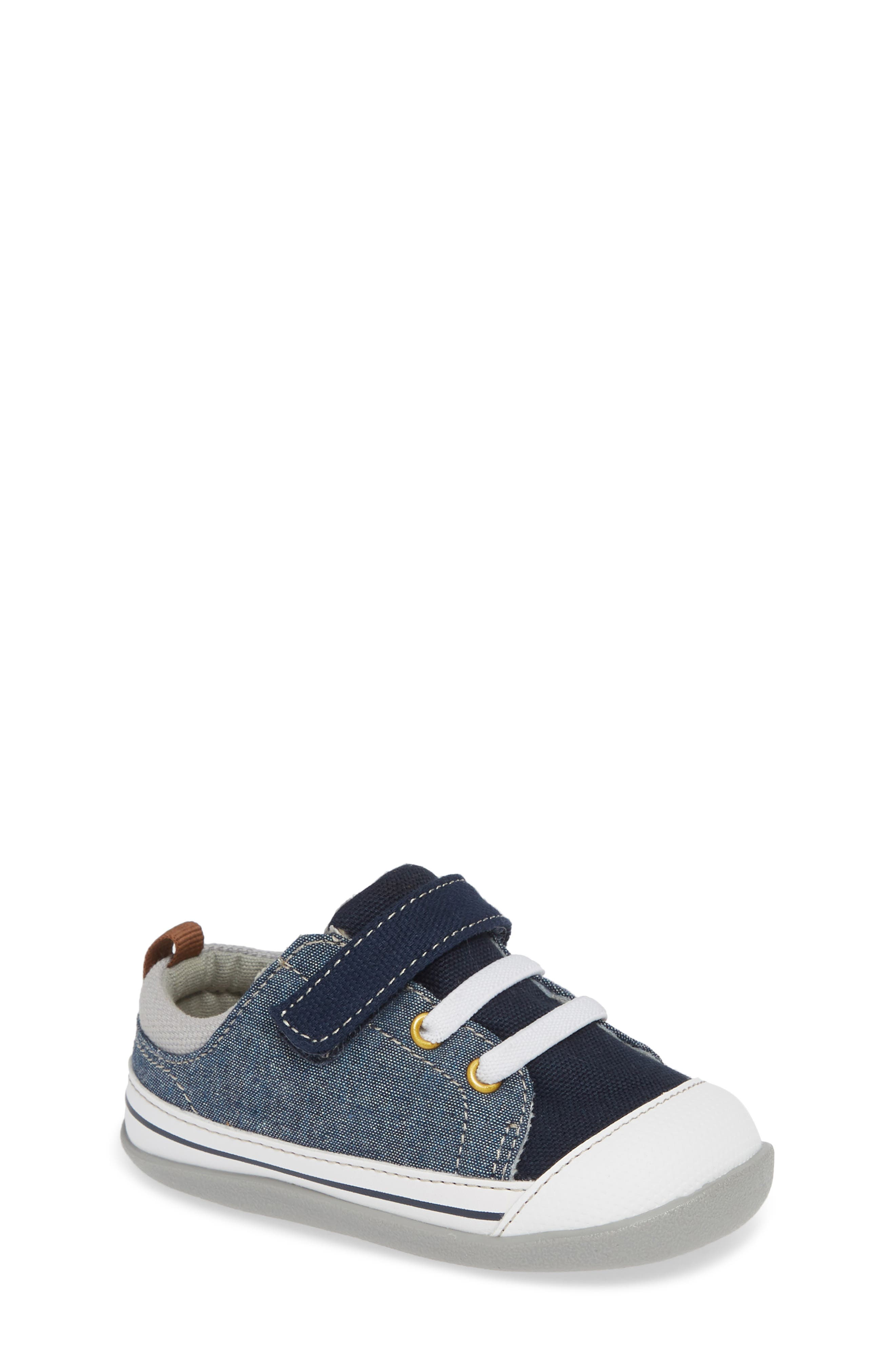 Stevie II Sneaker,                             Main thumbnail 1, color,                             BLUE DENIM