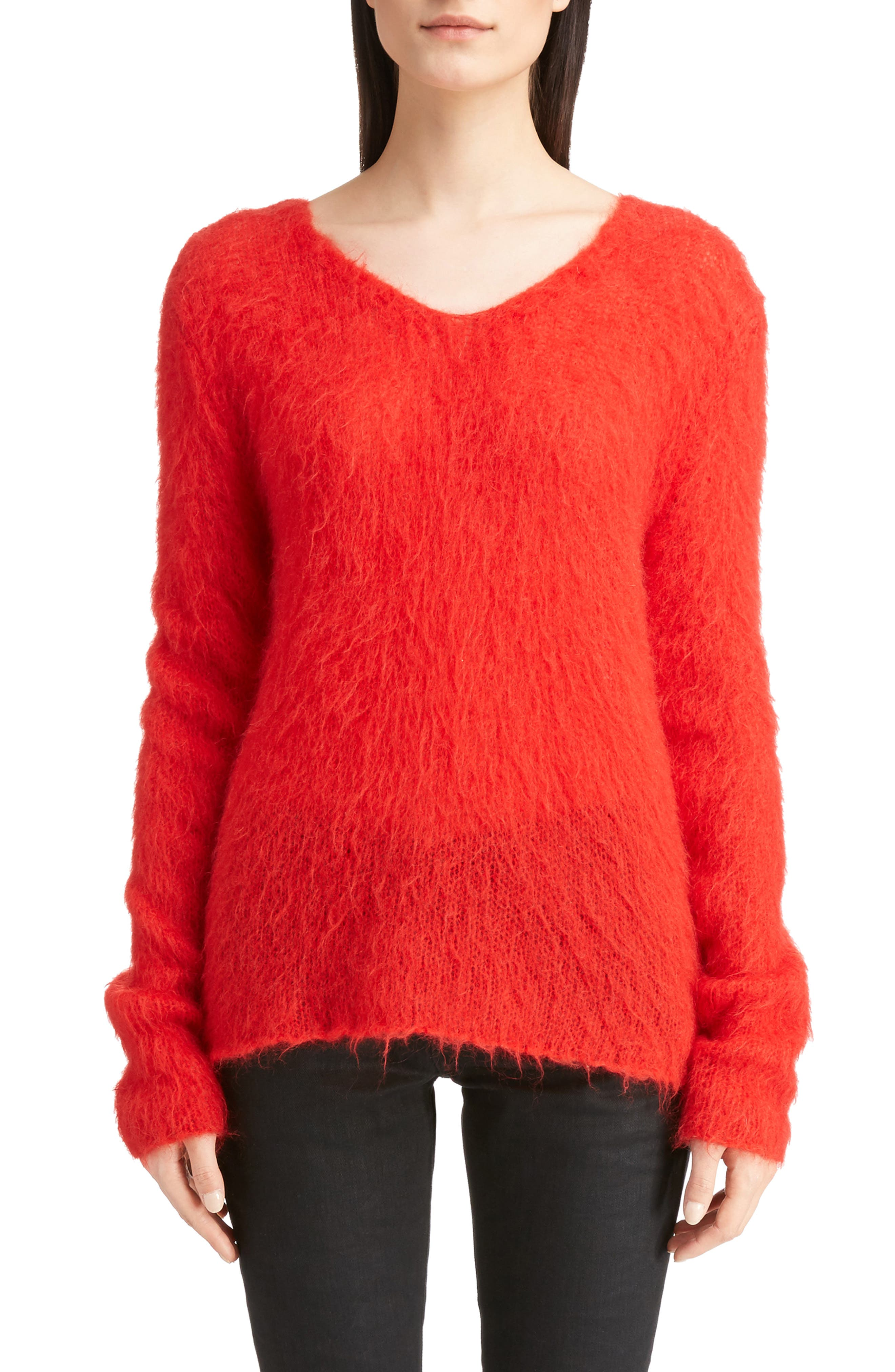 Mohair Blend Sweater,                             Main thumbnail 1, color,