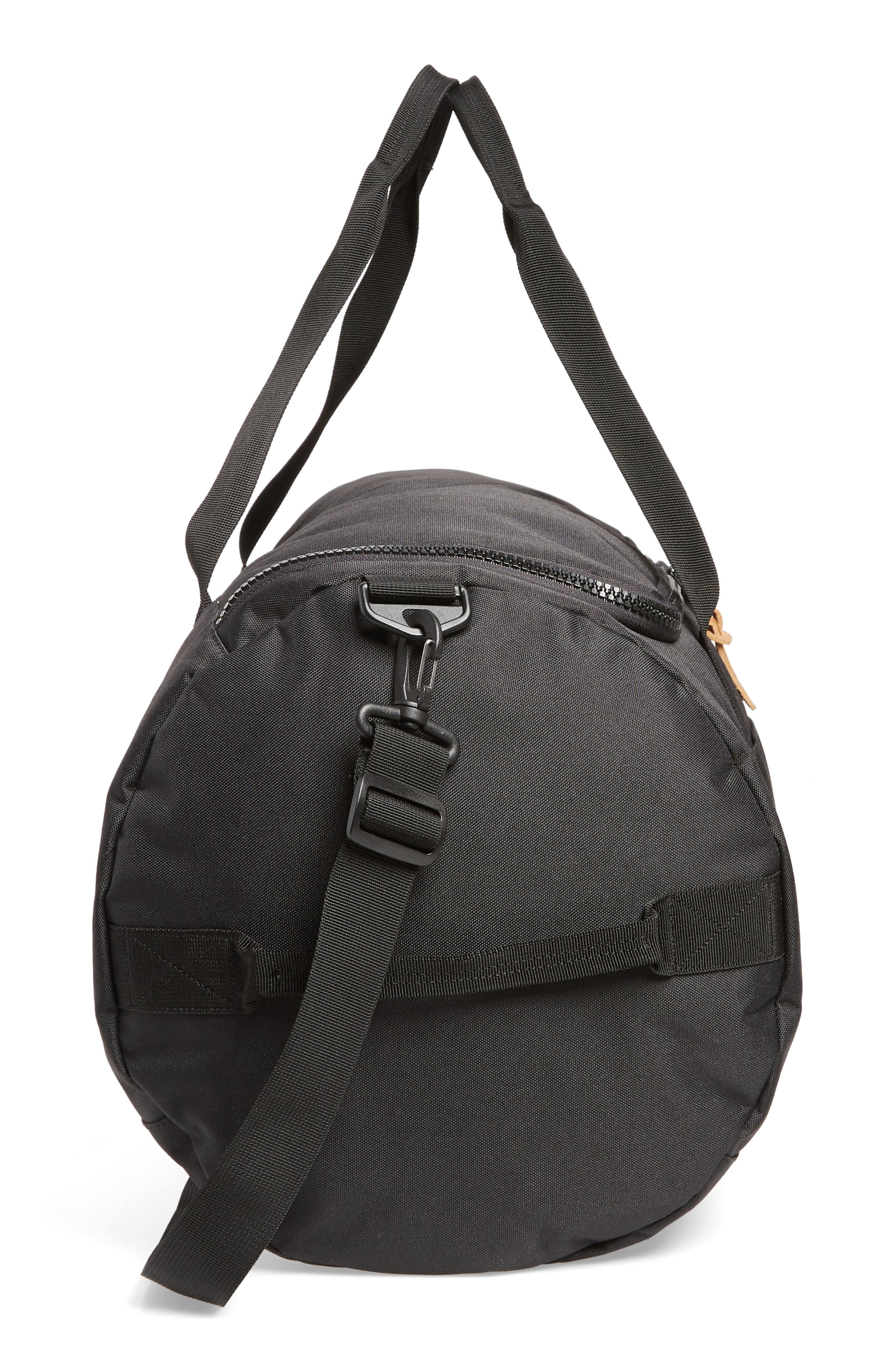 Sutton Duffel Bag,                             Alternate thumbnail 5, color,                             BLACK