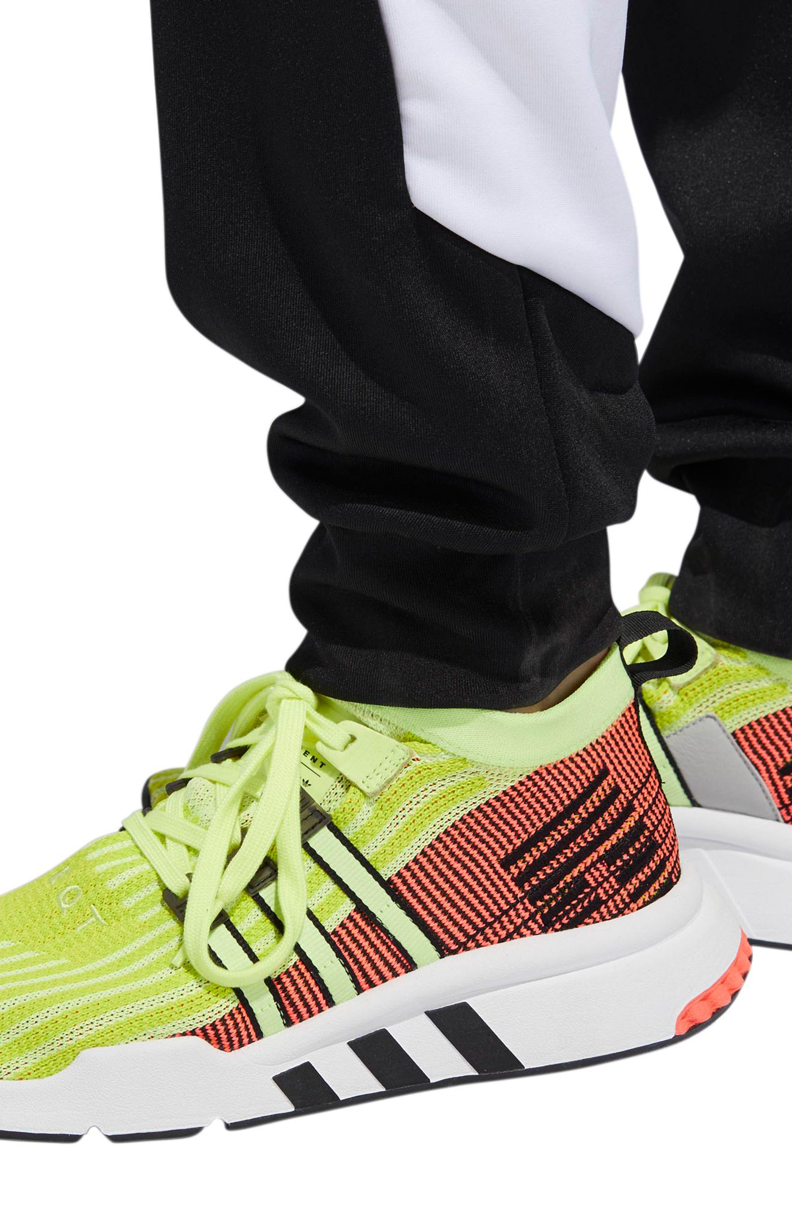 ADIDAS ORIGINALS,                             EQT Block Track Pants,                             Alternate thumbnail 6, color,                             001