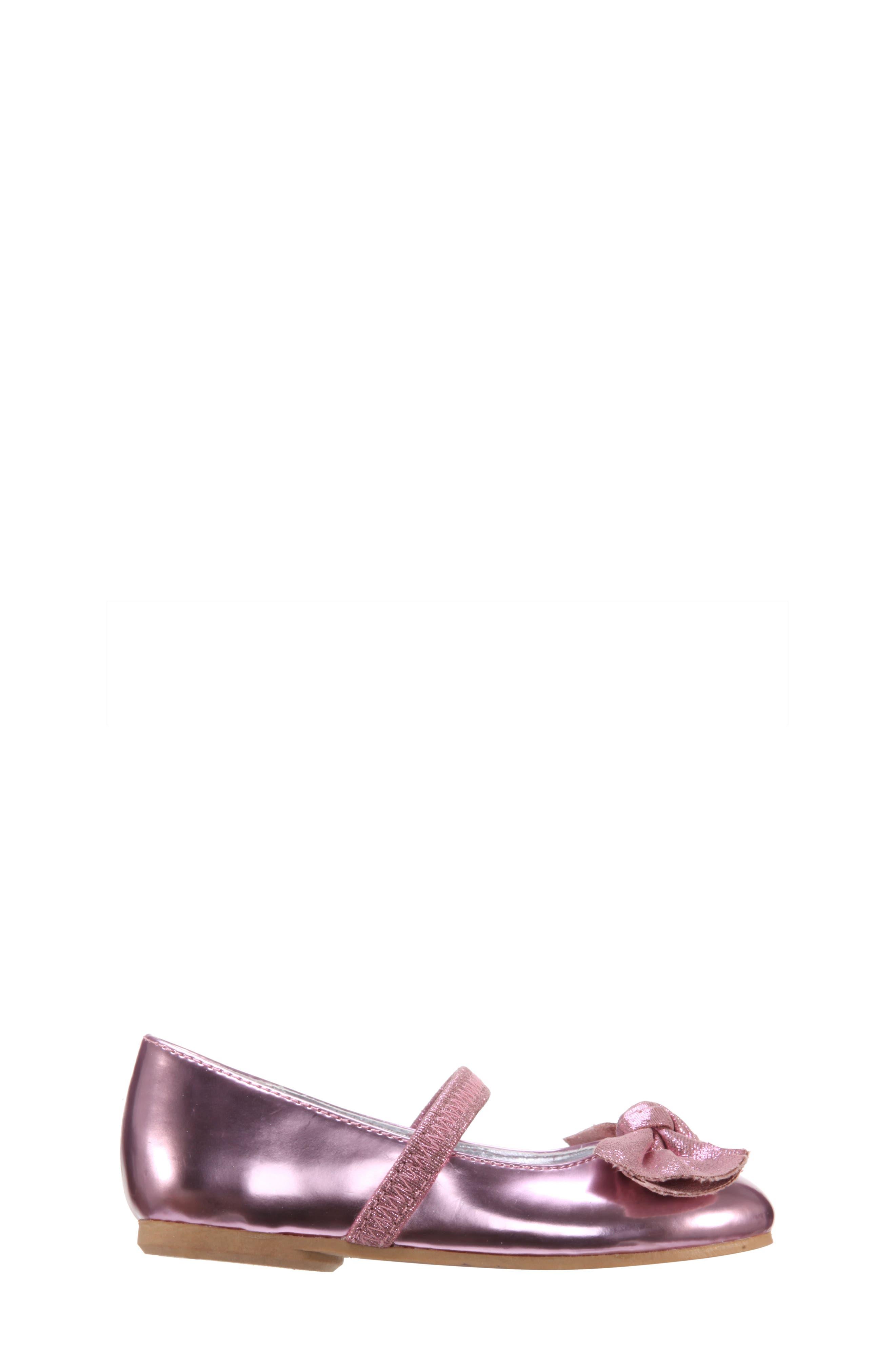 Kaytelyn-T Glitter Bow Ballet Flat,                             Alternate thumbnail 19, color,