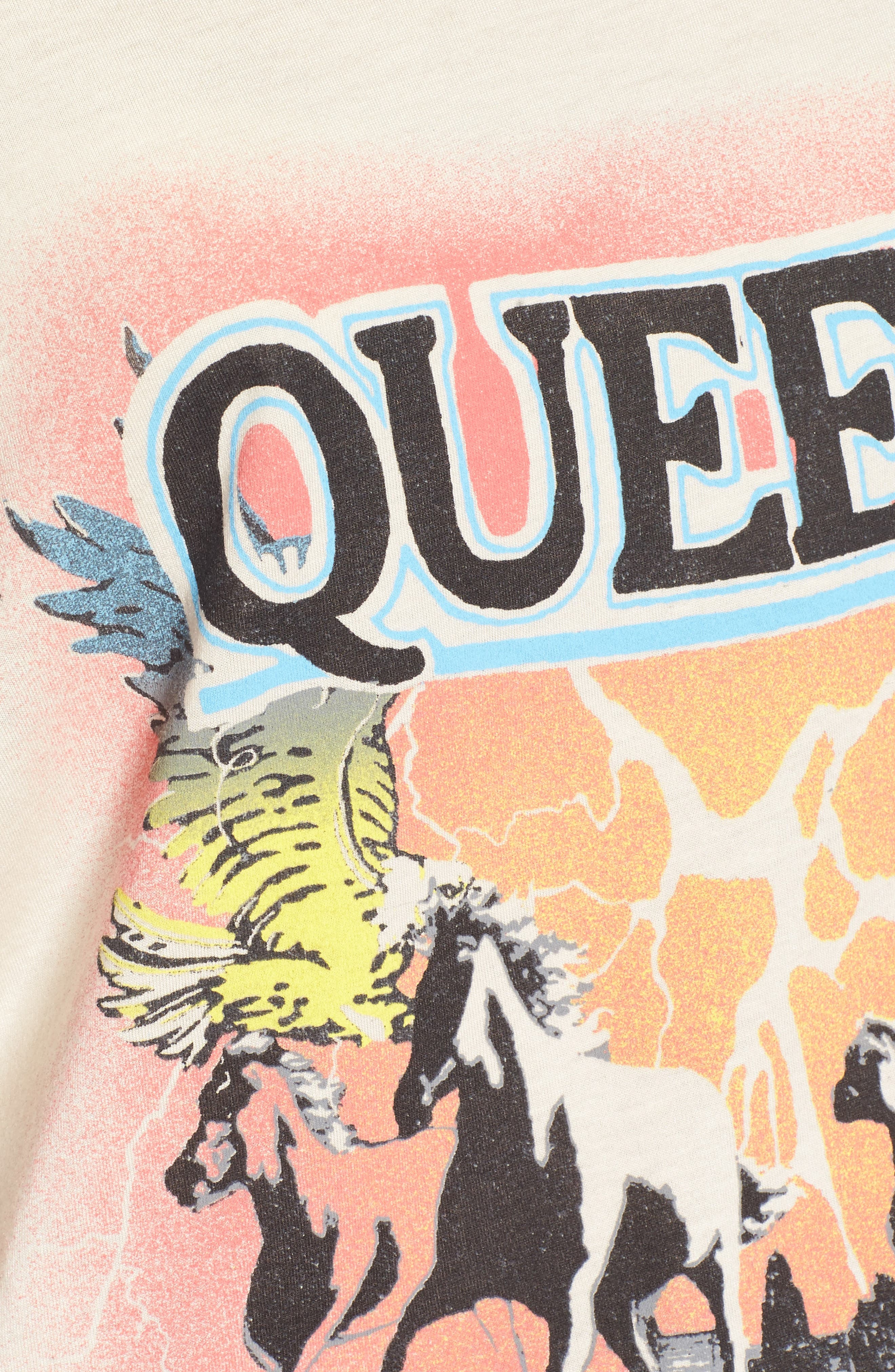 Queen Graphic Tee,                             Alternate thumbnail 5, color,                             900