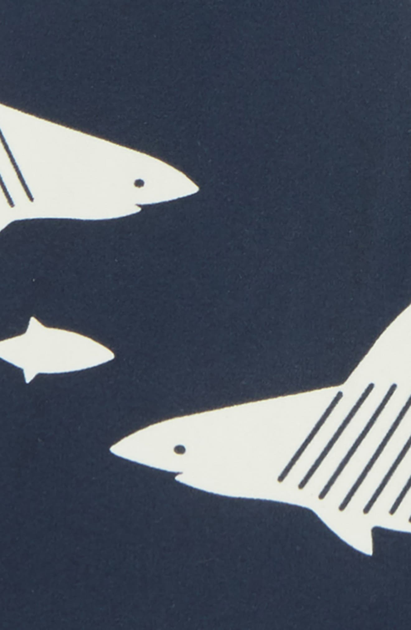 Shark One-Piece Rashguard,                             Alternate thumbnail 2, color,                             411