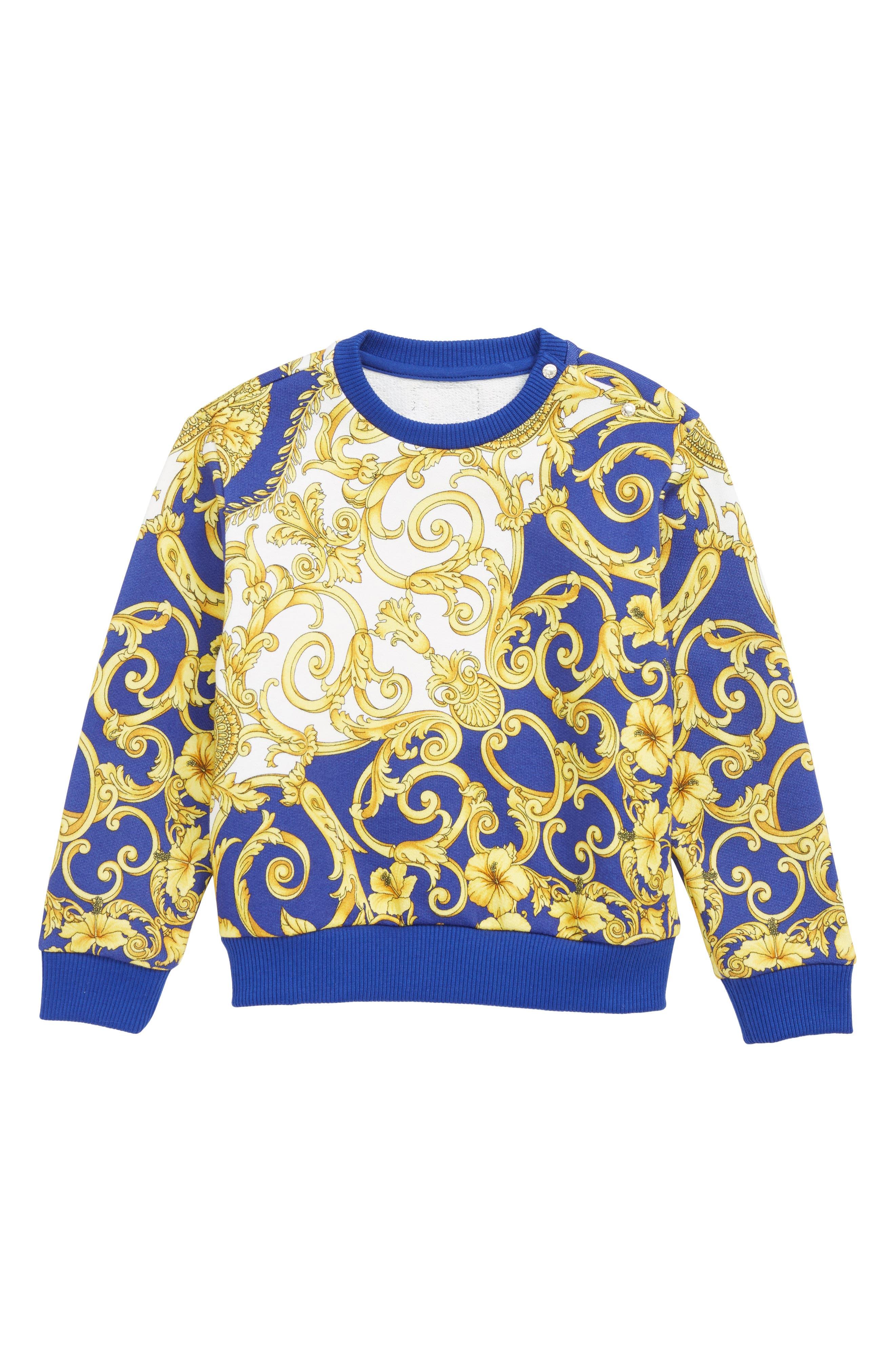 Infant Boys Versace Barocco Sweatshirt