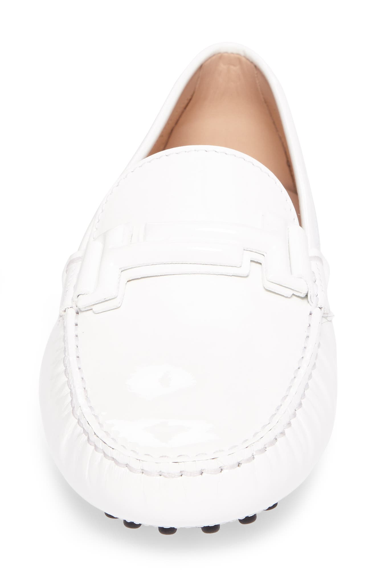 Gommini Covered Double T Loafer,                             Alternate thumbnail 10, color,