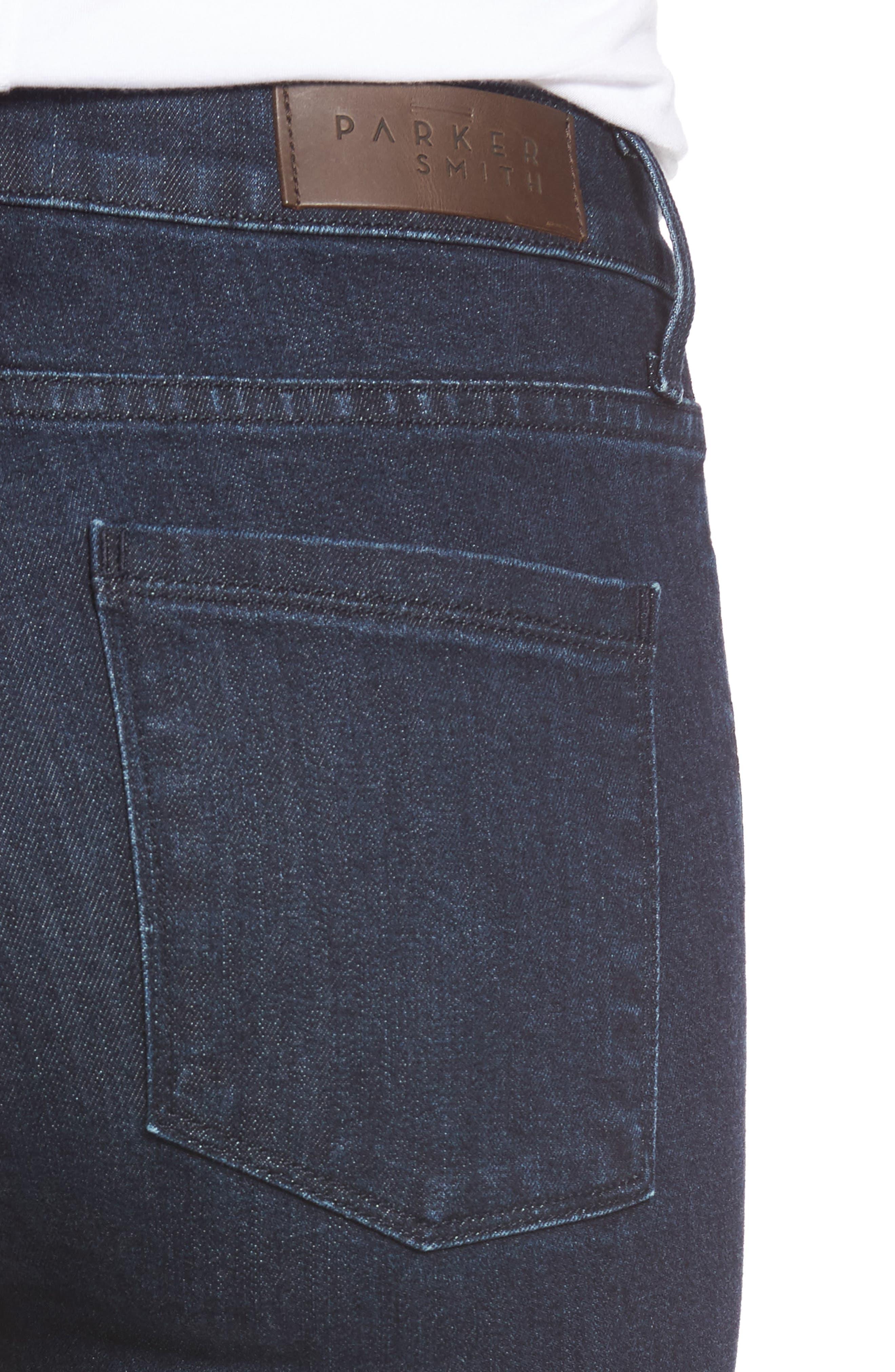 Bombshell High Waist Stretch Skinny Jeans,                             Alternate thumbnail 11, color,