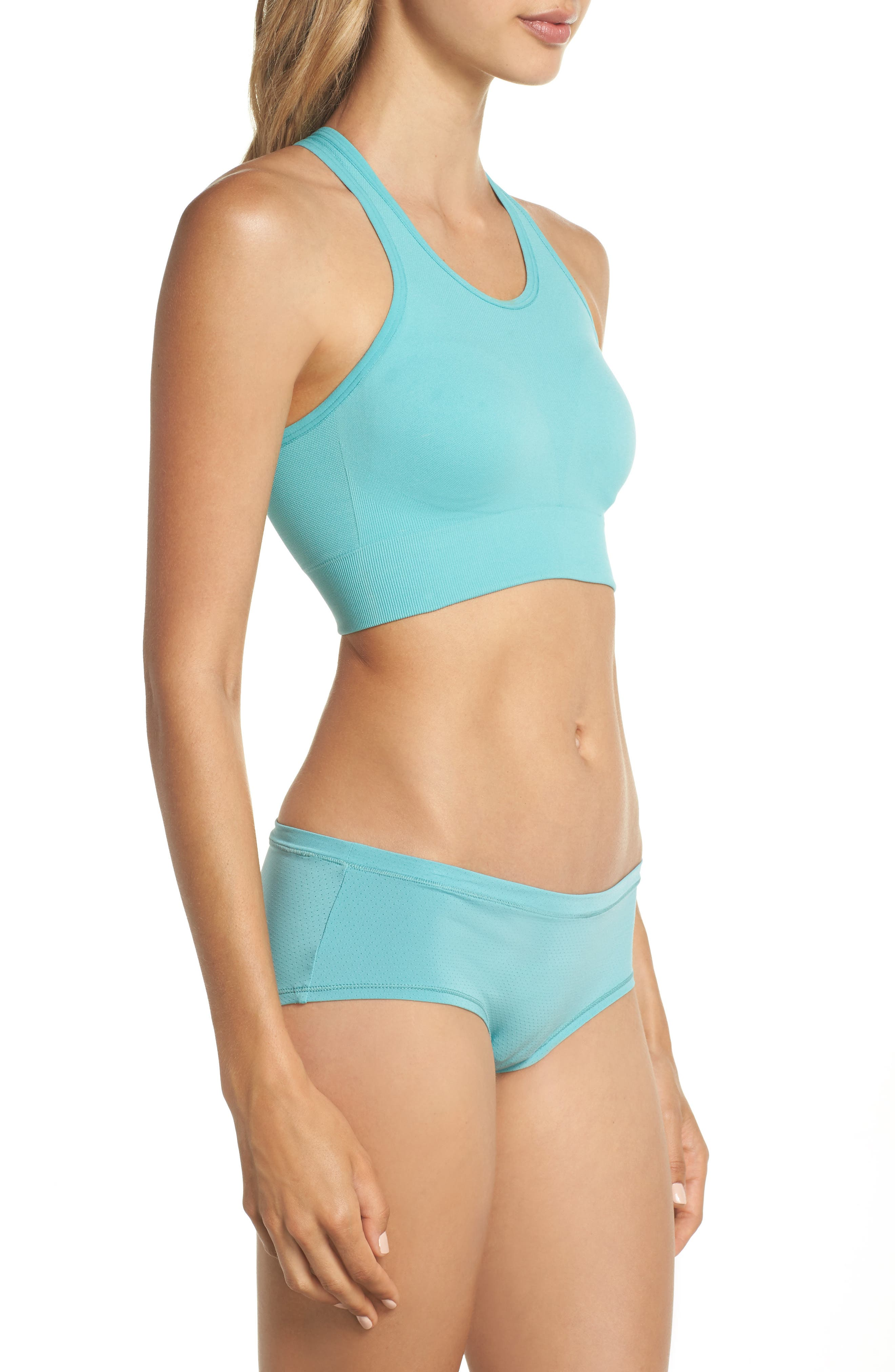 Relay Sports Bra,                             Alternate thumbnail 10, color,                             TEAL MEADOW