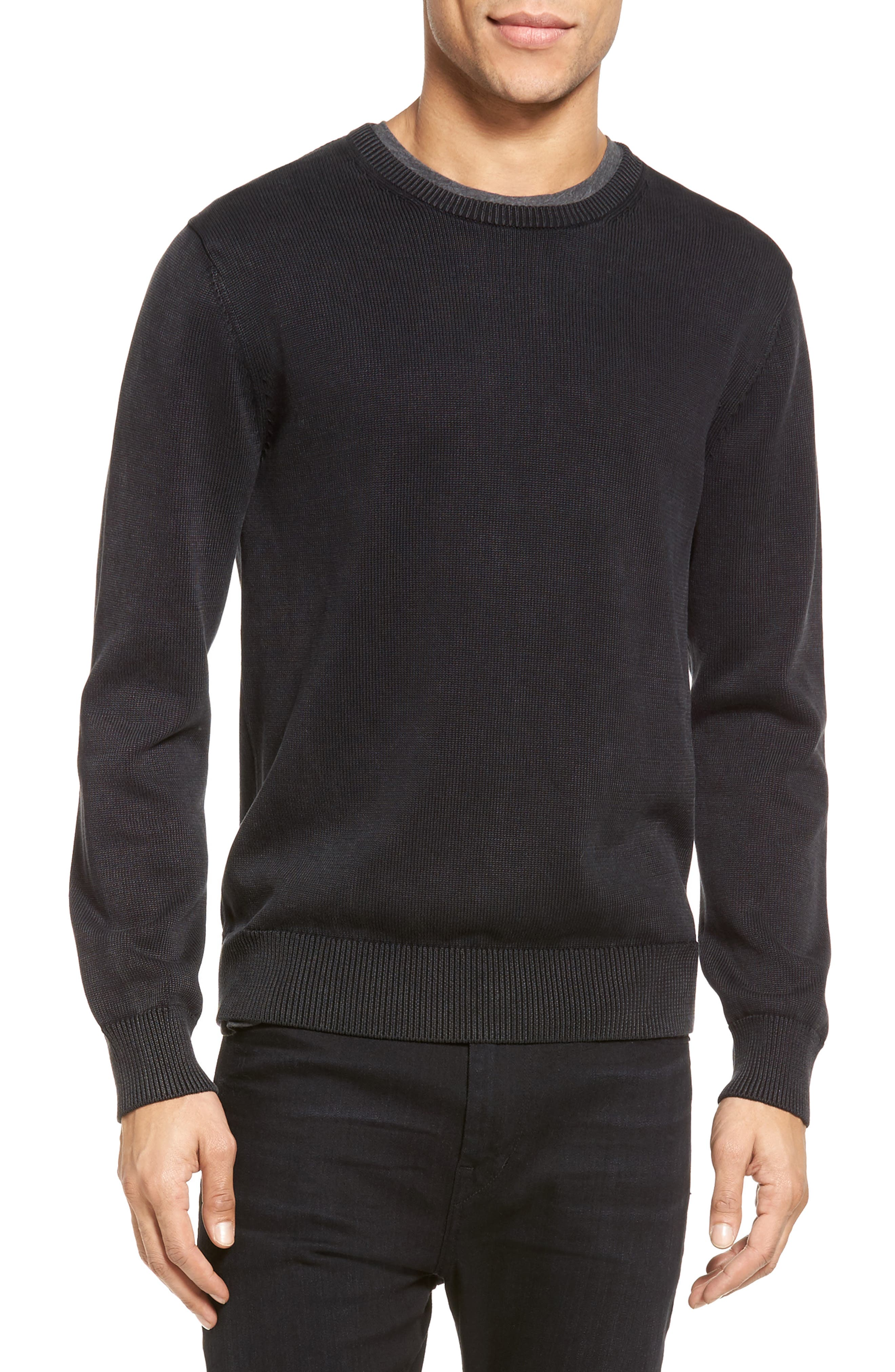 Crewneck Pullover,                             Main thumbnail 1, color,                             001